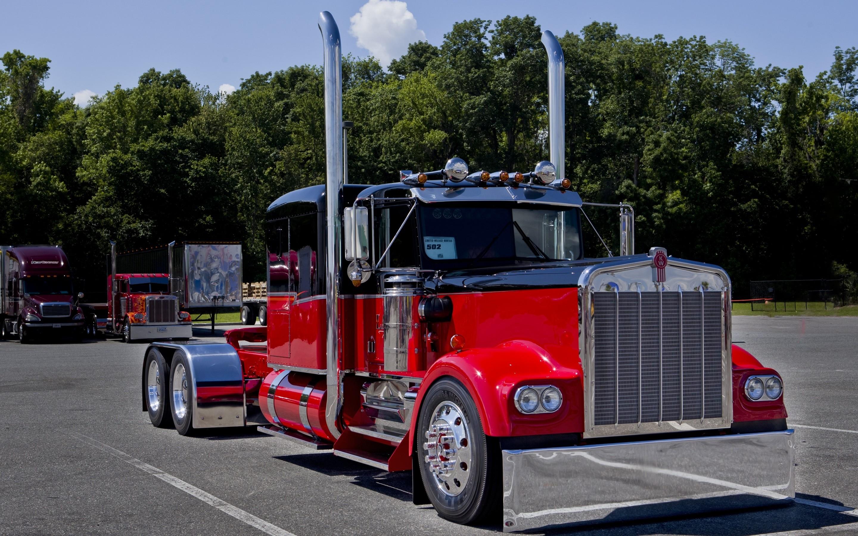 3840x2160 Kenworth Fire Truck Wallpaper