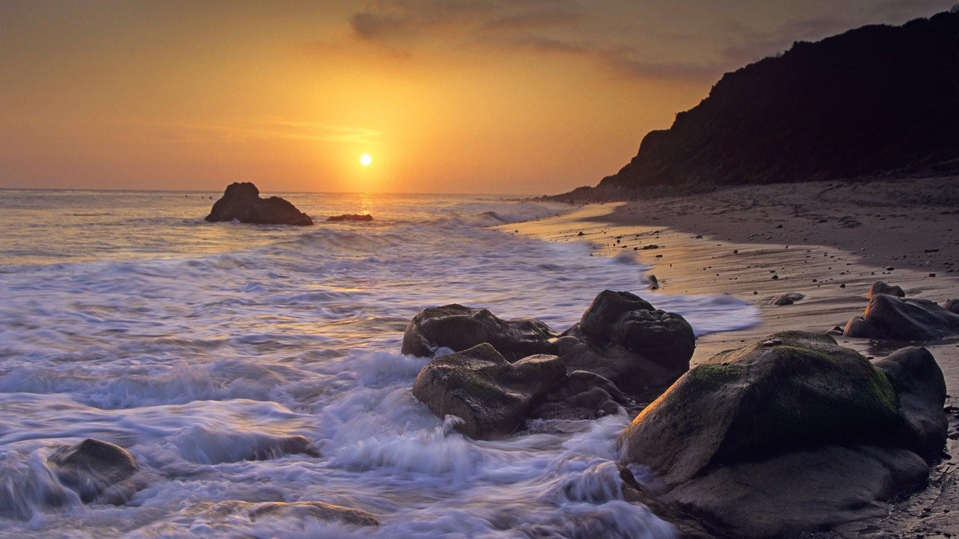 1920x1080 California Beaches HD Wallpaper