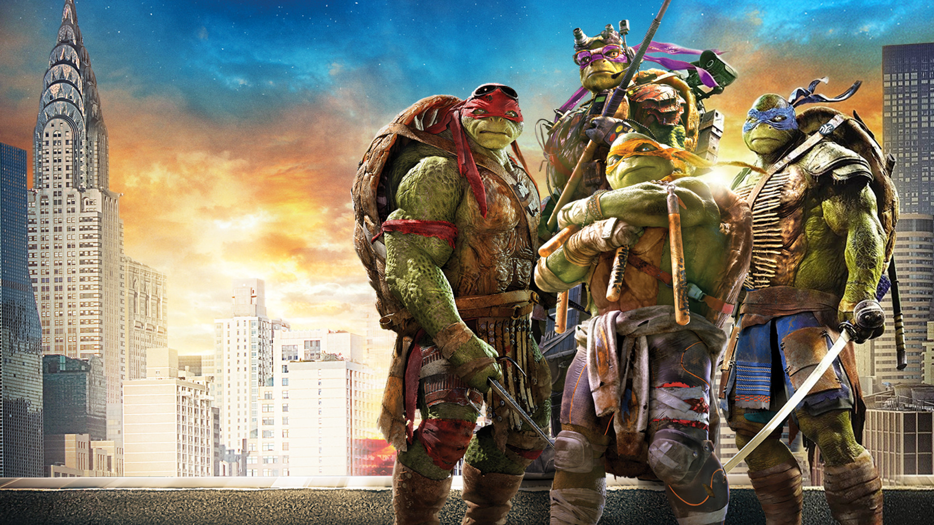 1920x1080 Teenage mutant ninja turtles high resolution wallpaper.
