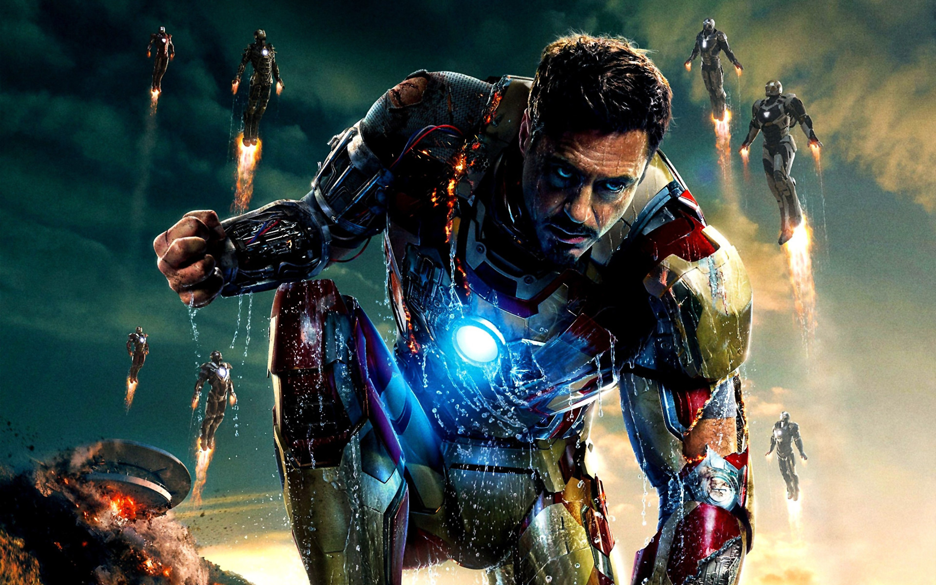 Iron Man Broken Screen Wallpaper 52 Images