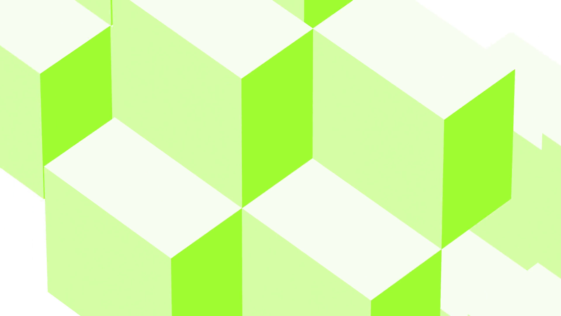 1920x1080 Lime Green Background loop of moving cubes. Abstract Motion Seamless Loop  4K Motion Background - Storyblocks Video