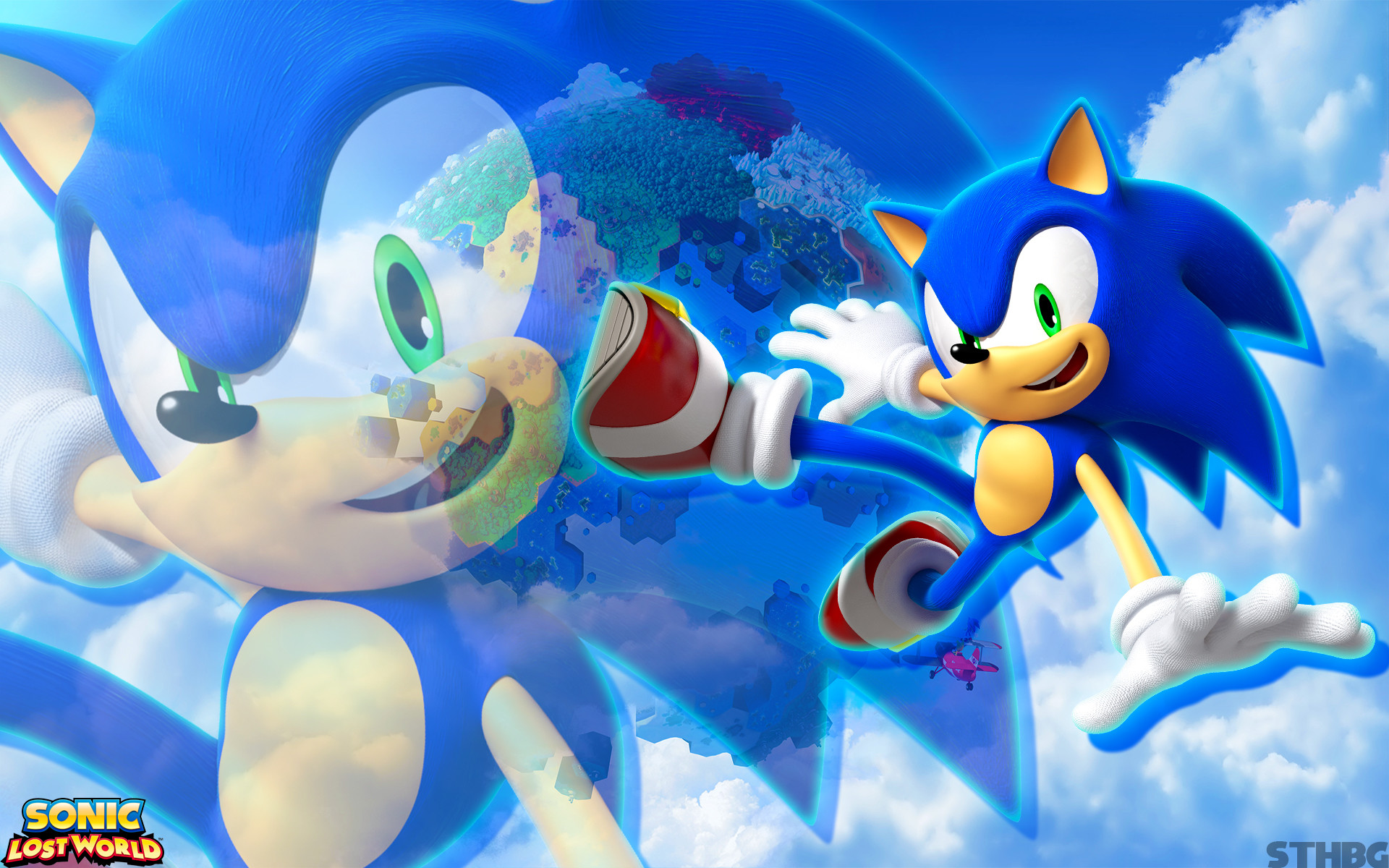 1920x1200 Sonic Lost World Wallpaper - Sonic by SonicTheHedgehogBG