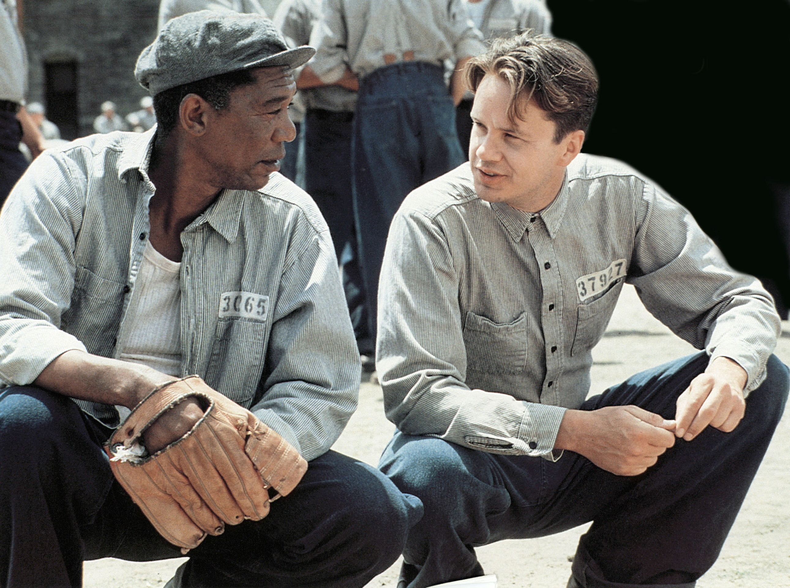 What issues are raised in THE SHAWSHANK REDEMPTION?