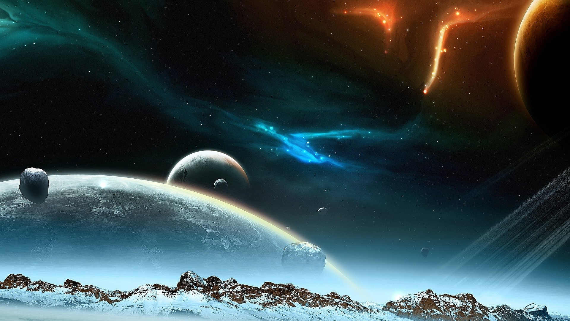 10 Latest Cool Laptop Backgrounds Space Full Hd 1920 1080: Cool Space Background Wallpapers (68+ Images