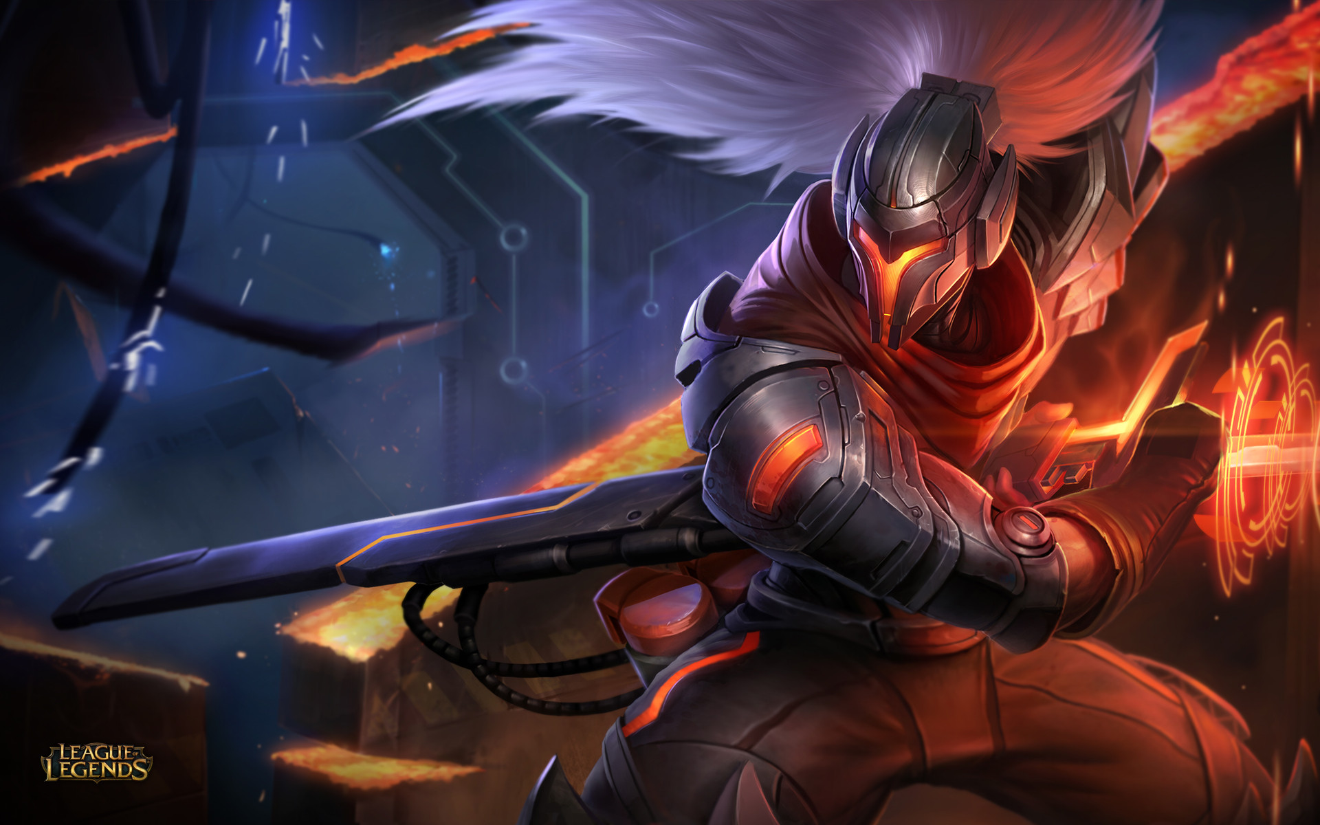 1920x1200 Project Yasuo Skin Wallpaper