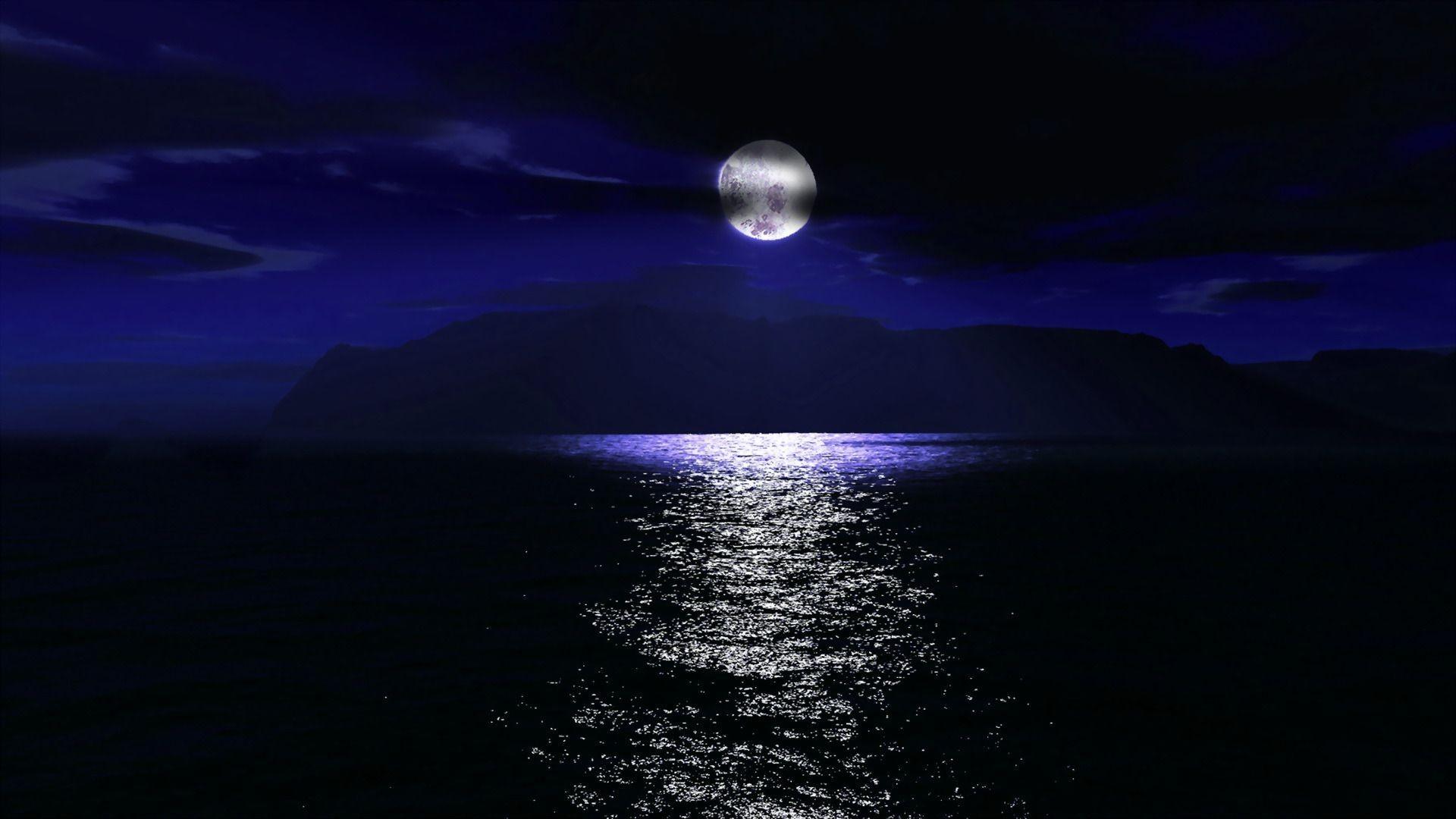beach moon wallpaper 47 images