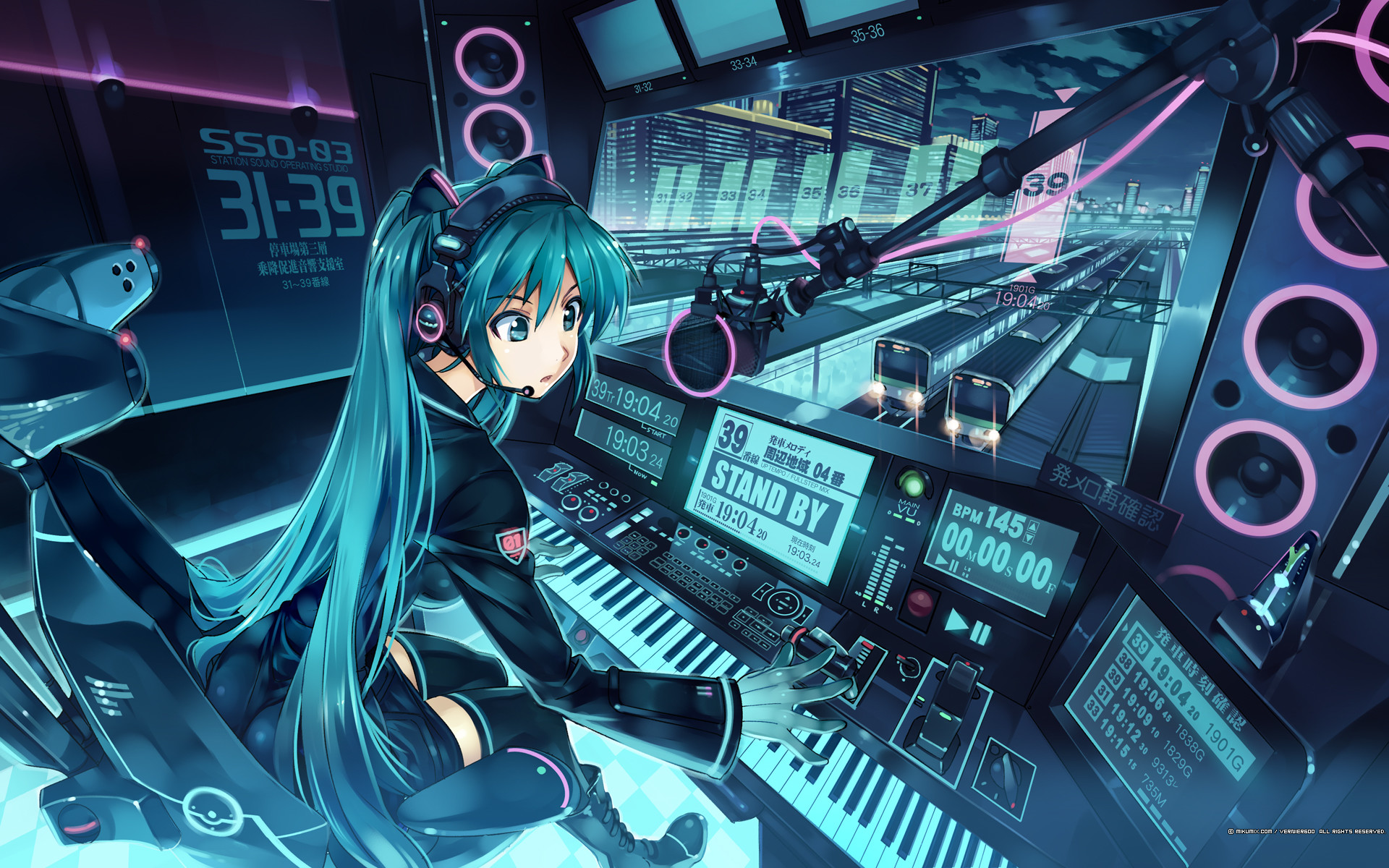 1920x1200 Anime Music Wallpapers For PC 2648