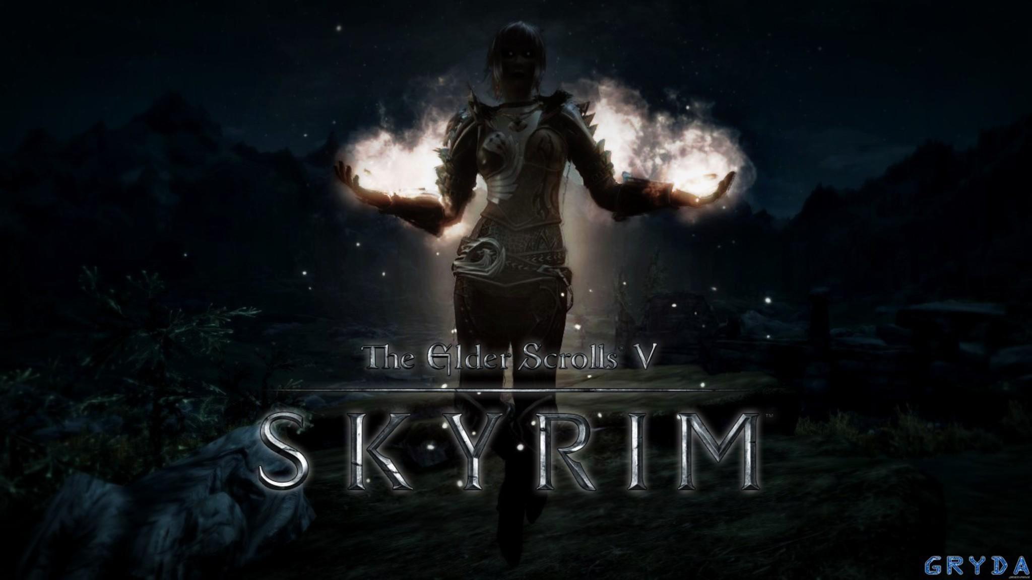 Skyrim Wallpaper 1366x768 74 Images