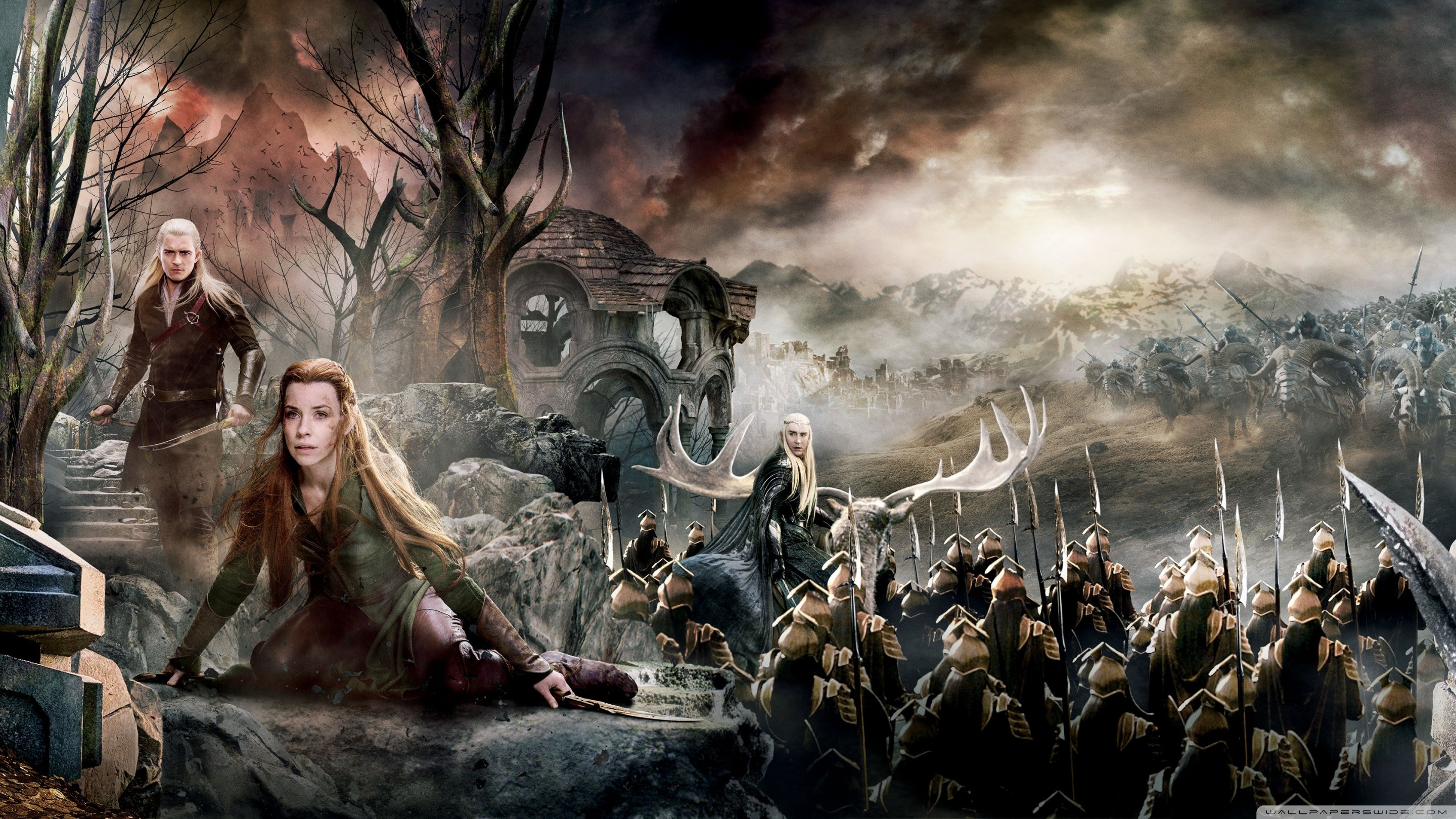 2880x1620 The Hobbit The Battle Of The Five Armies Picture As Wallpaper HD