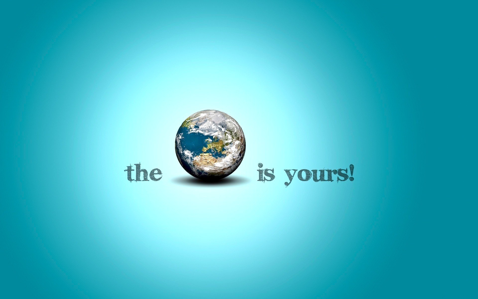 1920x1200 The Earth is Yours HD Wallpapers