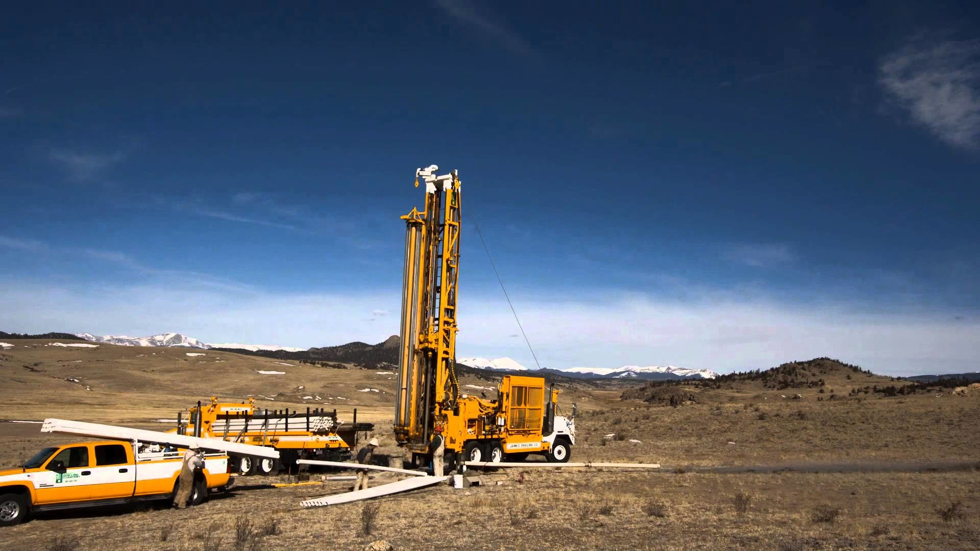 1920x1080 Incredible Time-Lapse of Water Well Drilling near South Park, CO - YouTube