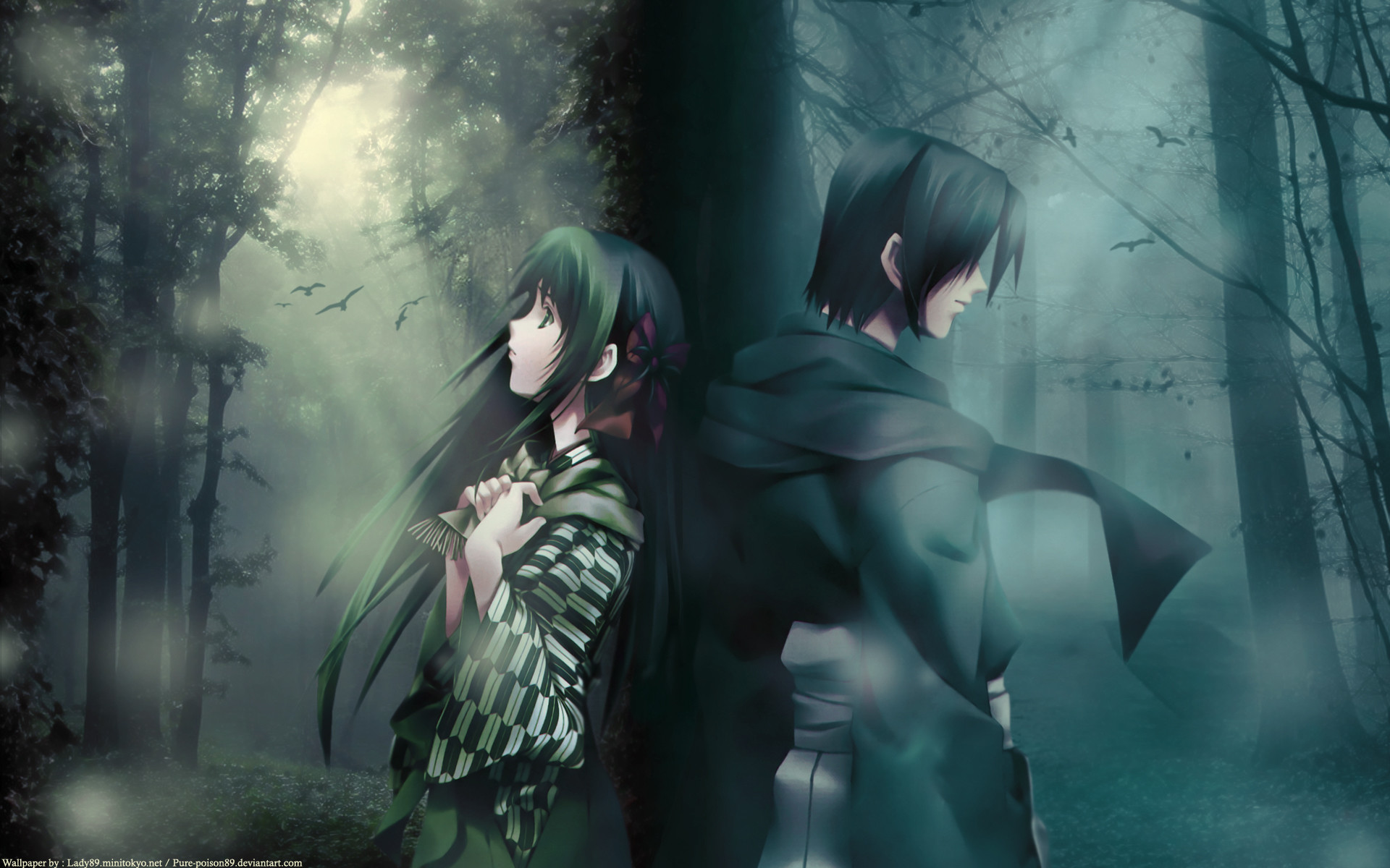 Sad anime wallpapers 78 images - Dark anime couples ...