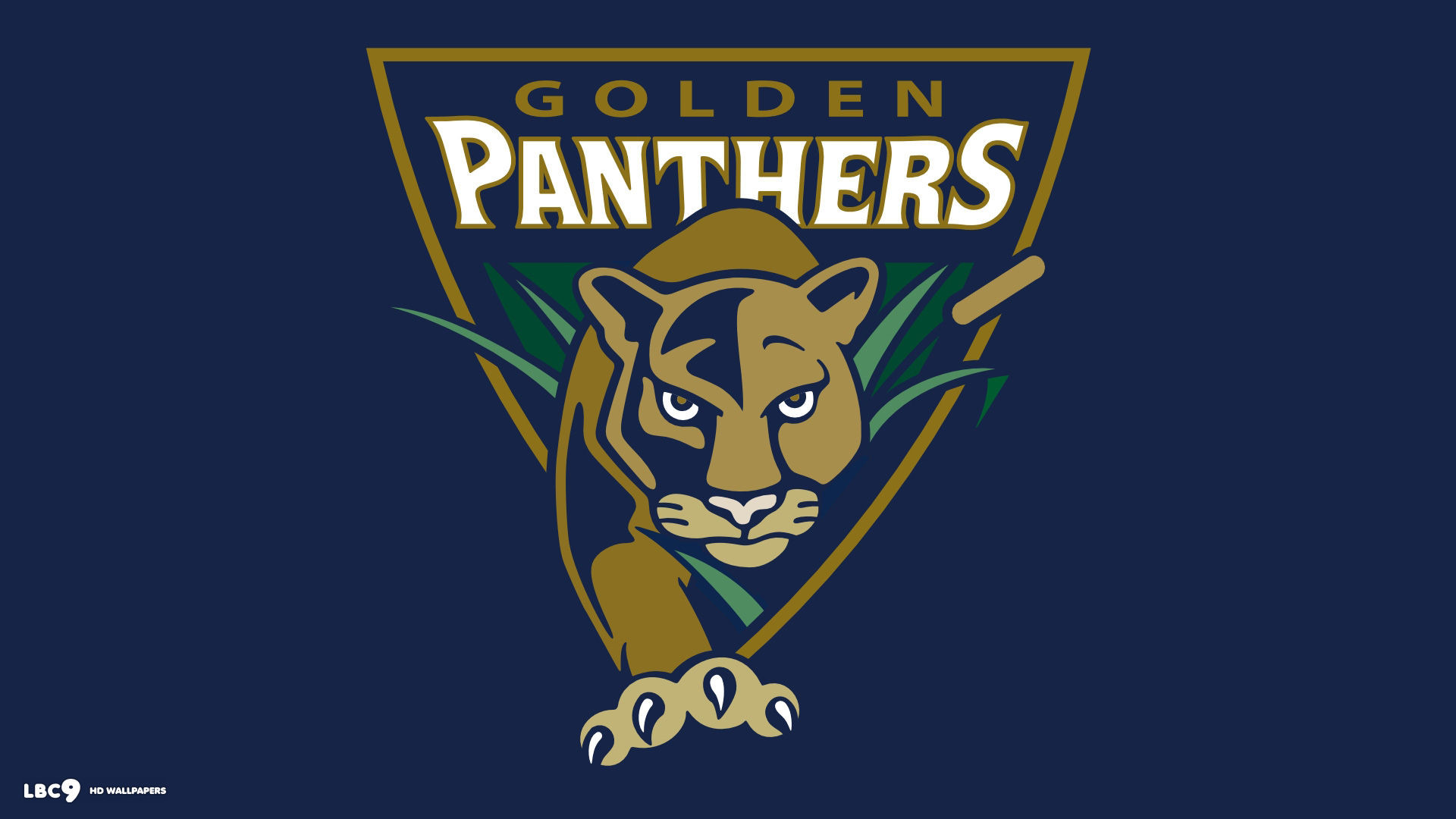 1920x1080 florida international golden panthers old logo