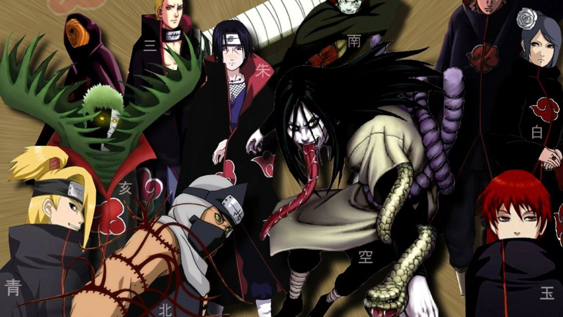 1112368 full size naruto shippuden wallpaper akatsuki 1920x1080 mac