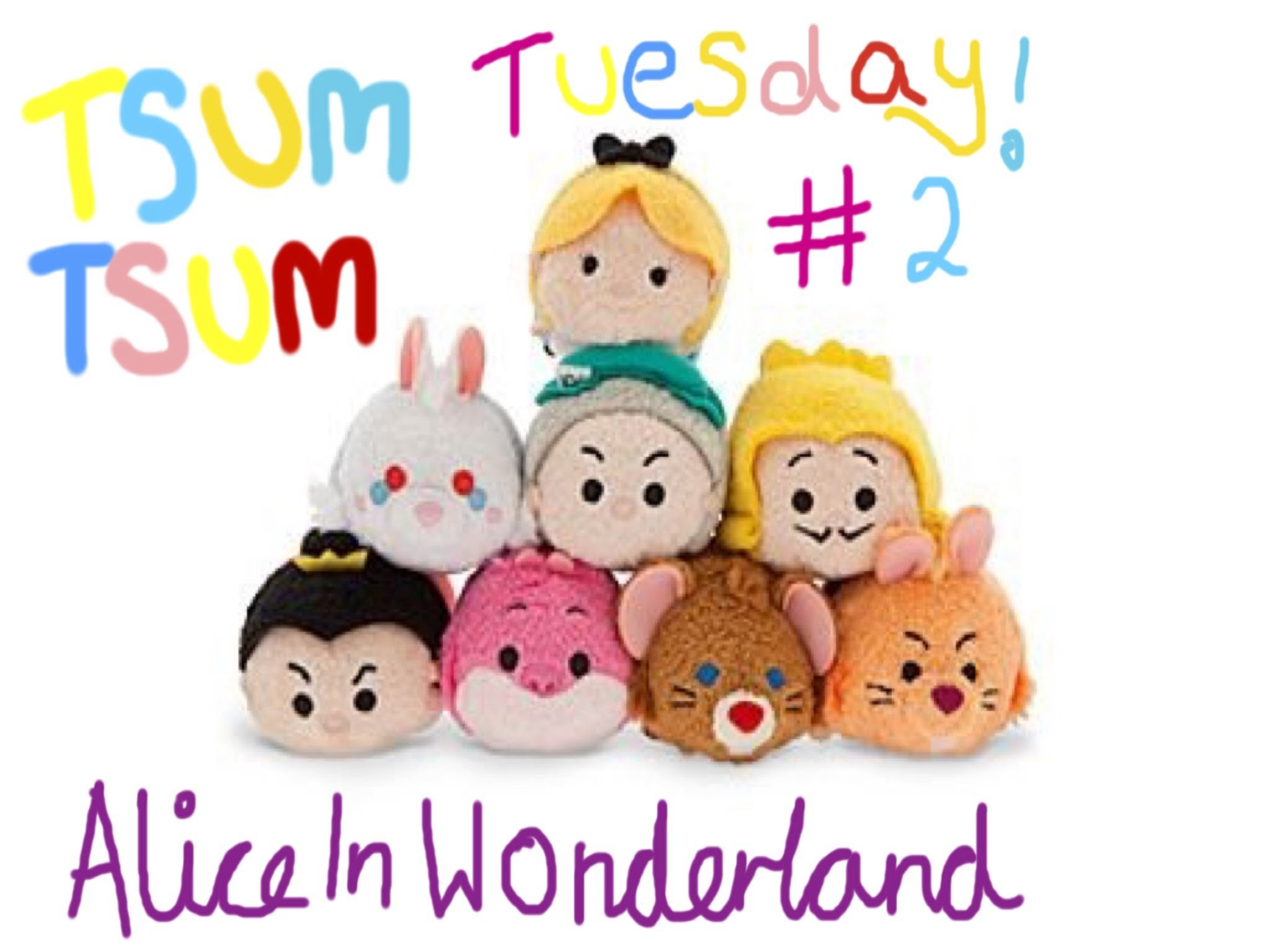 2048x1536 Tsum Tsum Tuesday! Alice In Wonderland! And Guests! #2
