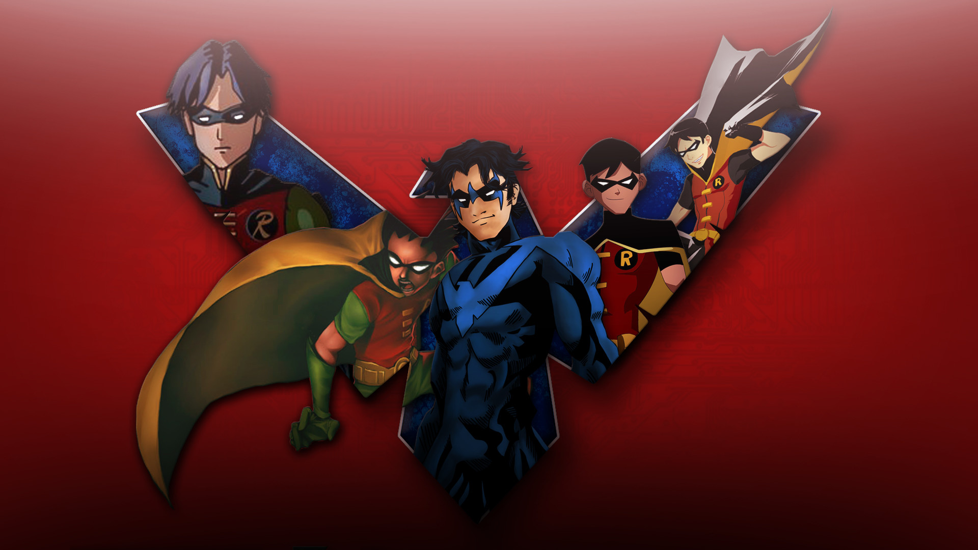 1920x1080 Young Justice Robin Dick Grayson Wallpaper by FeitanPainPacker on ... |  Download Wallpaper | Pinterest | Young justice and Wallpaper