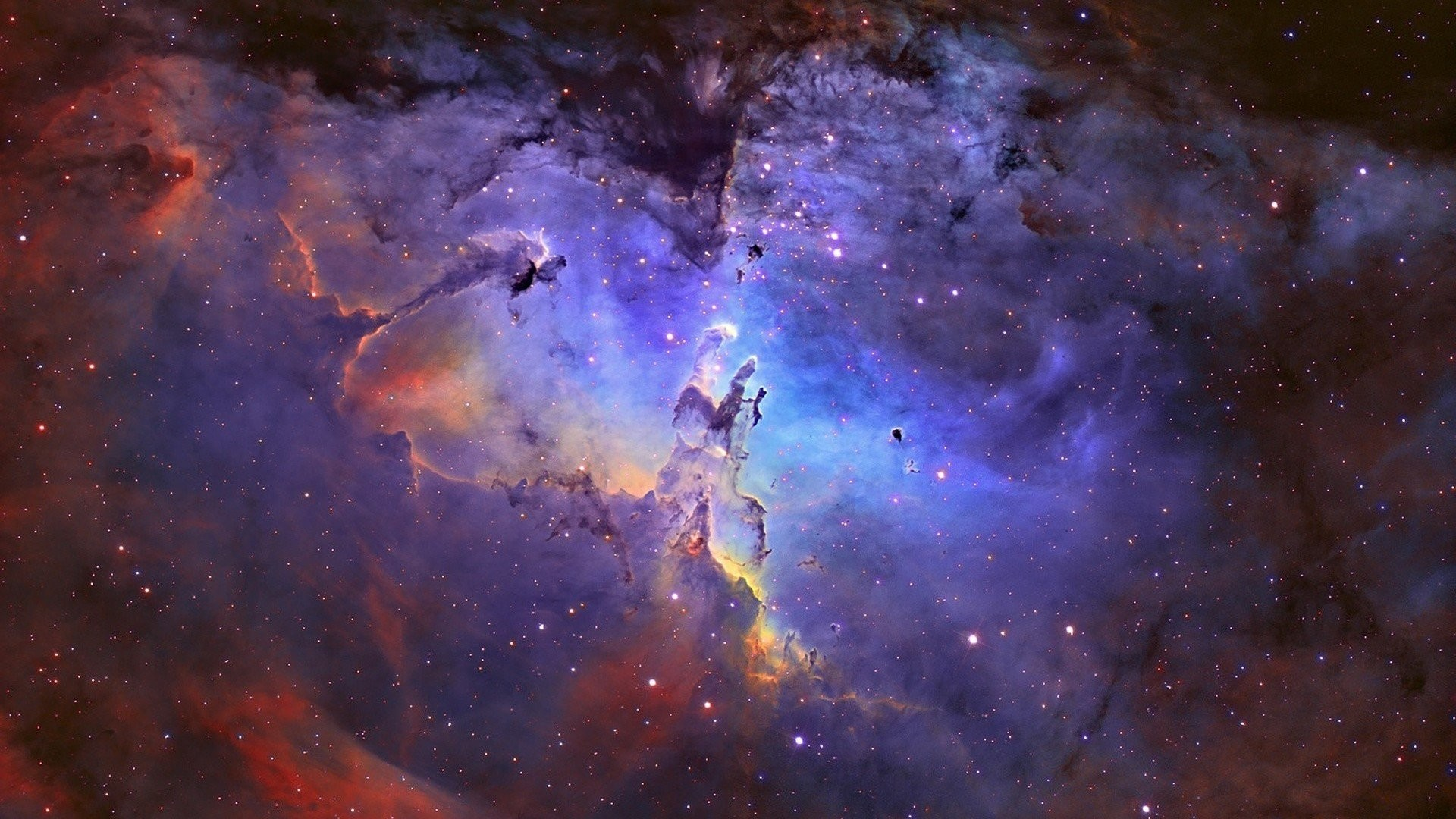 1920x1080 Eagle Nebula Outer Space ...
