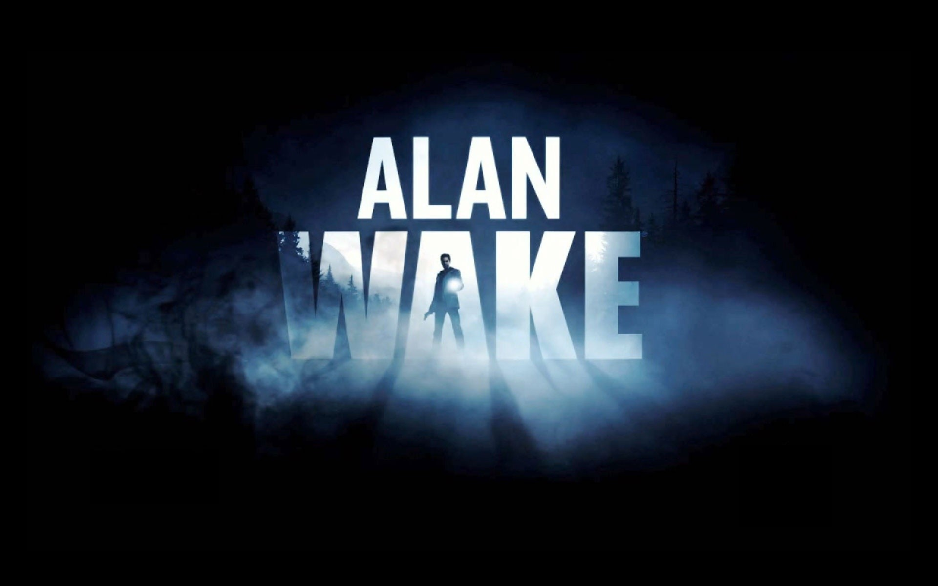1920x1200 ... Alan Wake HD Cover Wallpaper by MekMagma