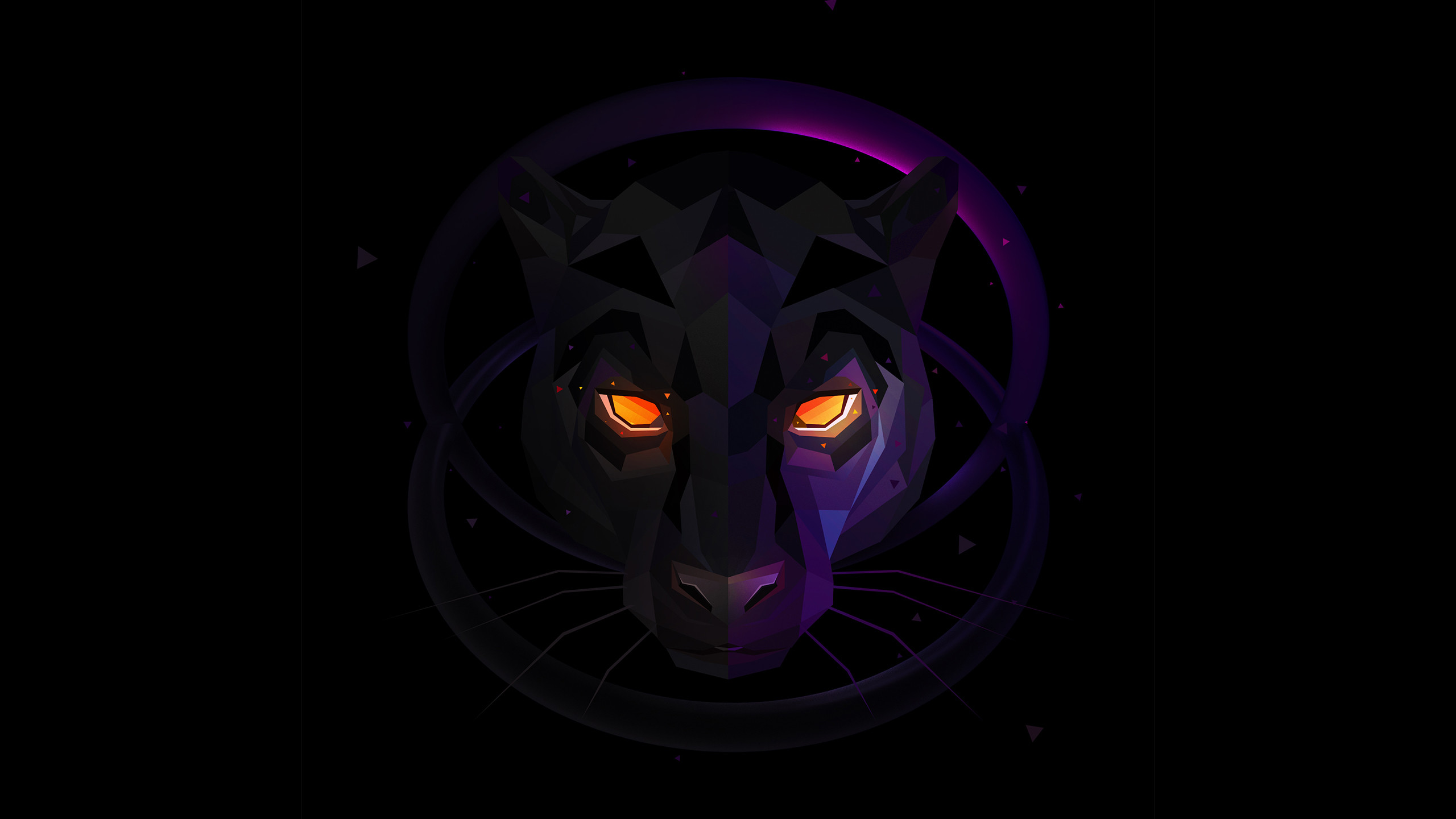 Neon Wolf Wallpaper 54 Images