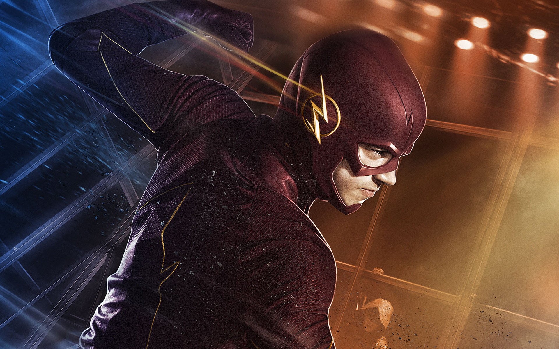 1920x1200 Grant Gustin as Barry Allen The Flash Wallpapers | HD Wallpapers