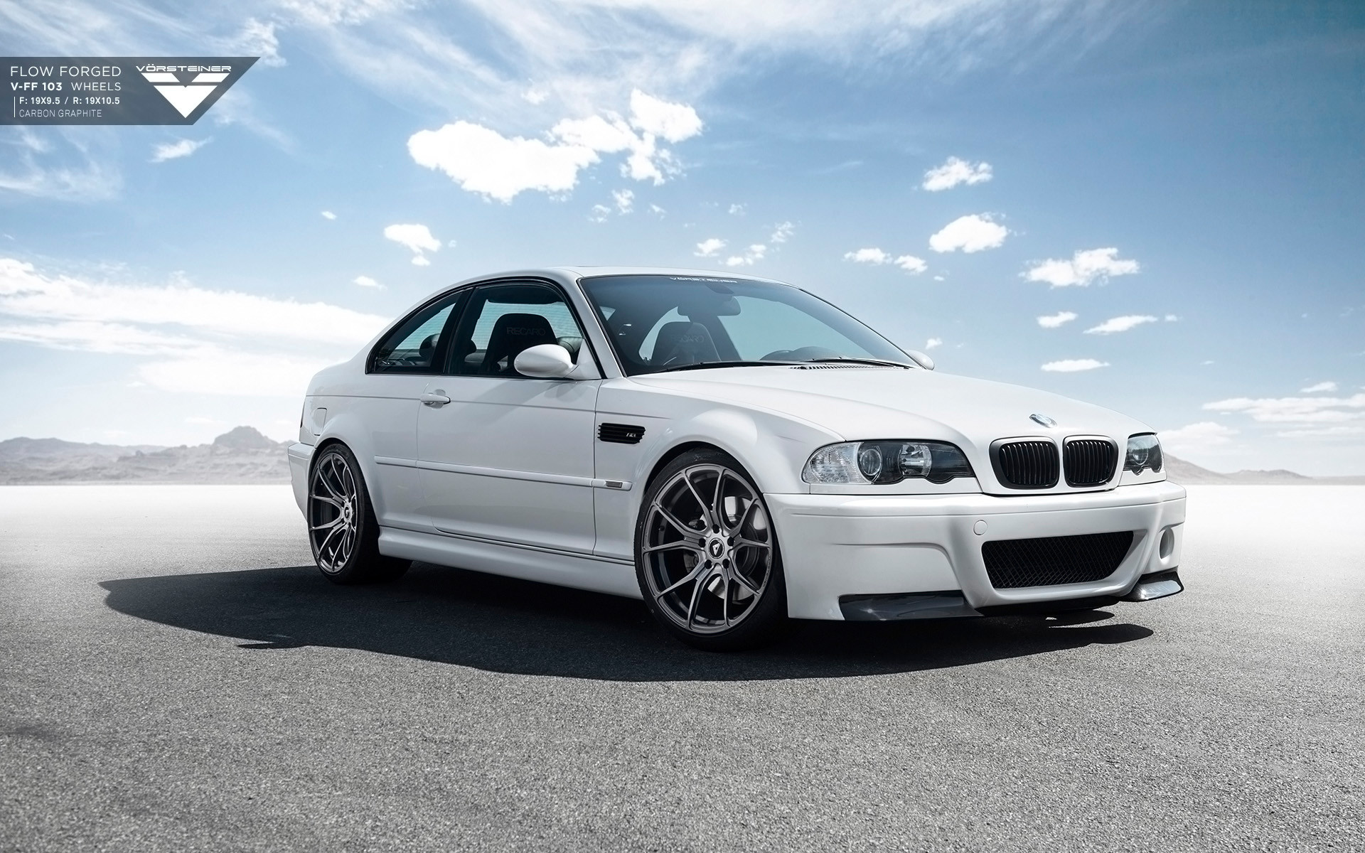 1920x1200 BMW E46 M3 Vorsteiner Wallpapers