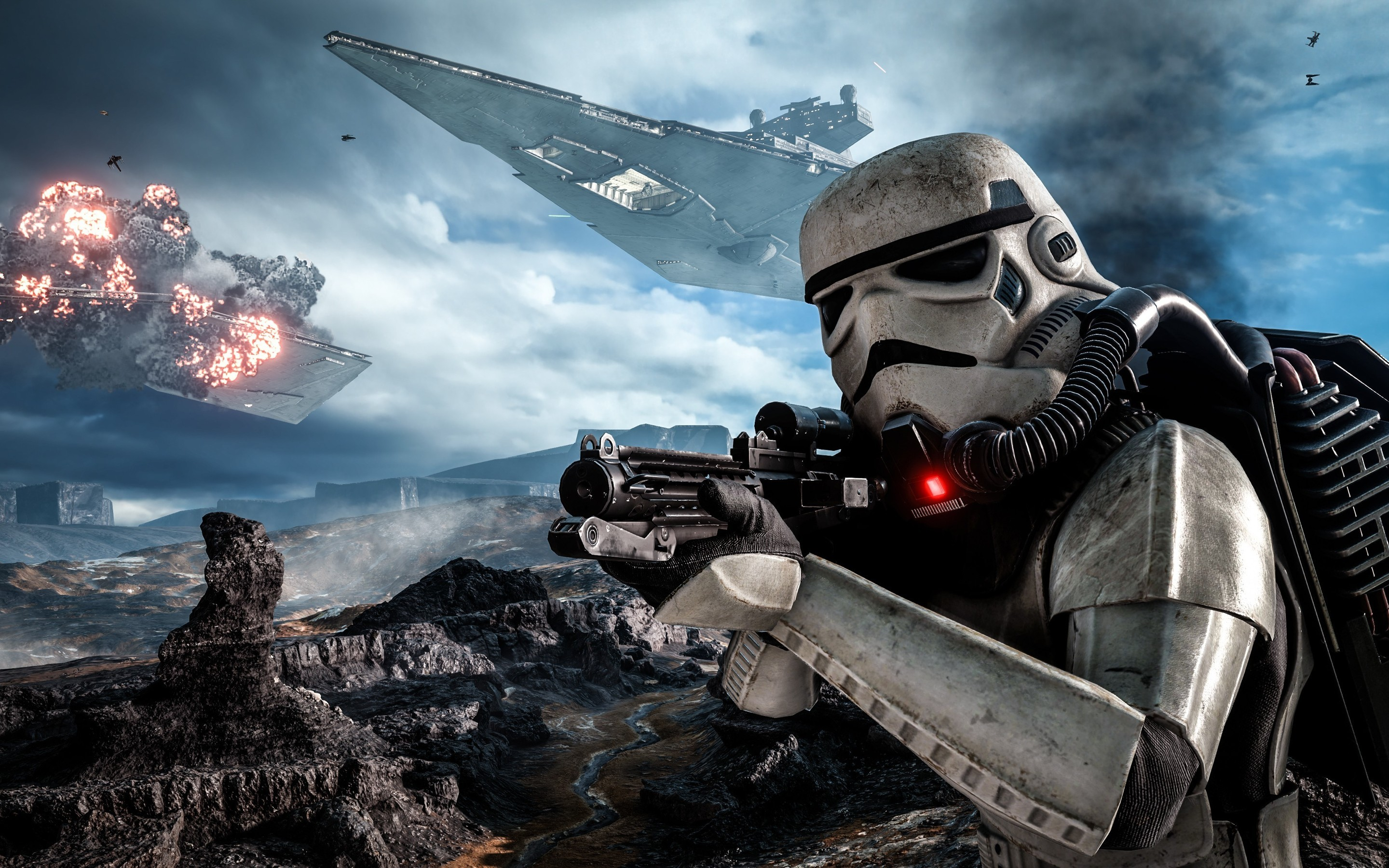 2880x1800 HD Wallpaper | Background ID:700985.  Video Game Star Wars ...