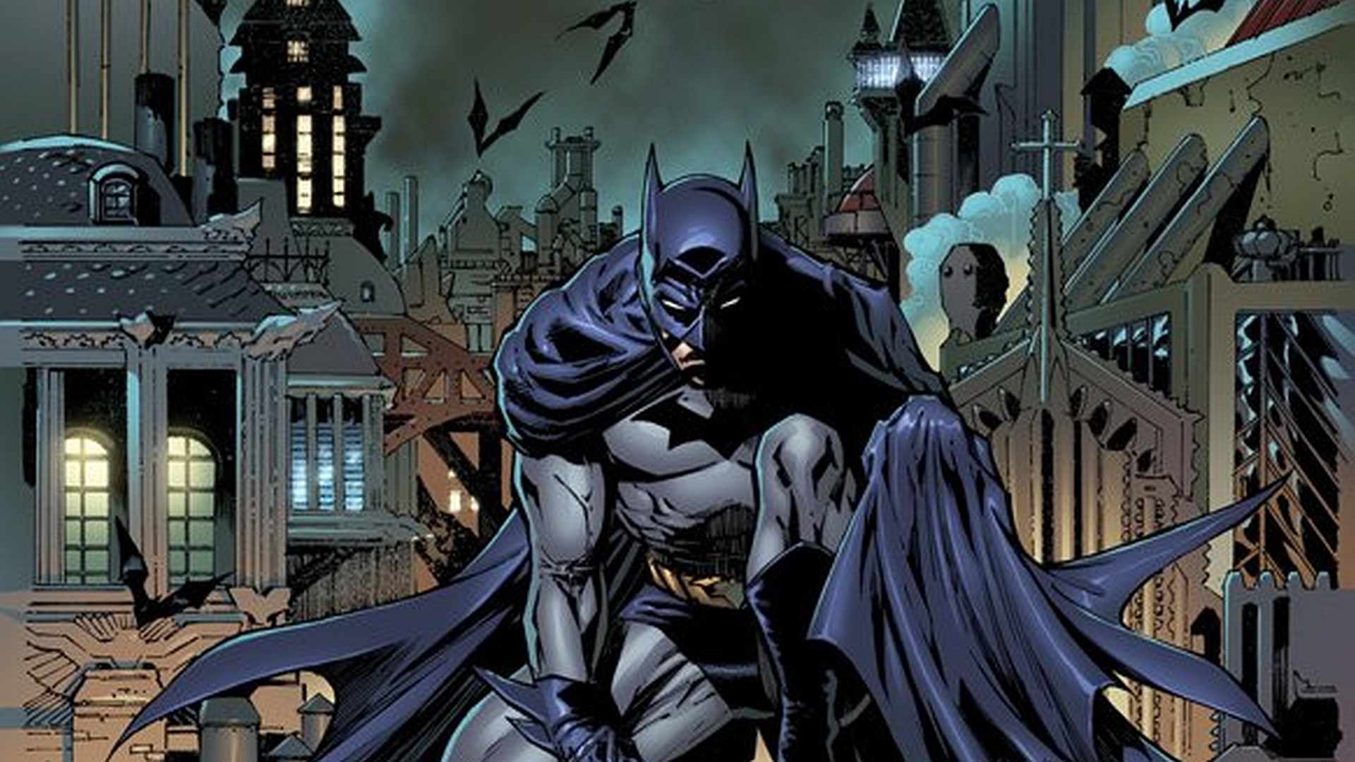 1920x1080 Free Batman Comic Wallpapers High Resolution Â« Long Wallpapers ...