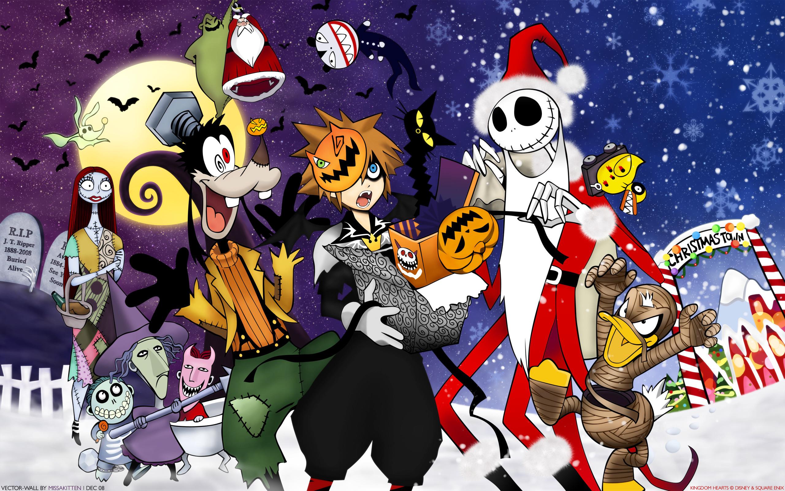Nightmare Before Christmas Desktop Wallpaper 55 Images