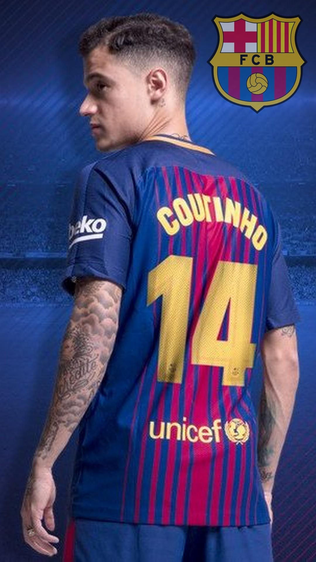 1080x1920 FC Barcelona Coutinho Android Wallpaper - Best Android Wallpapers