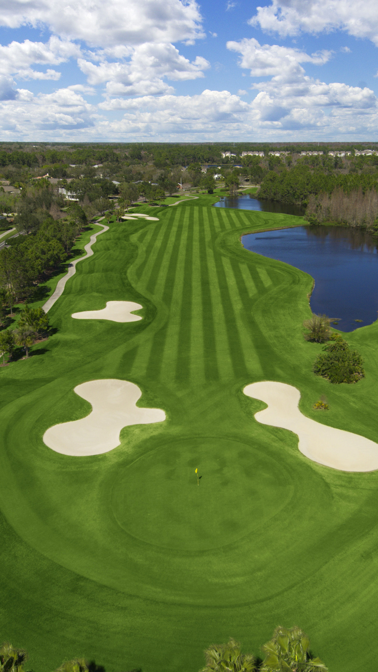Most Beautiful Golf Courses Hd Wallpapers Background in Sports