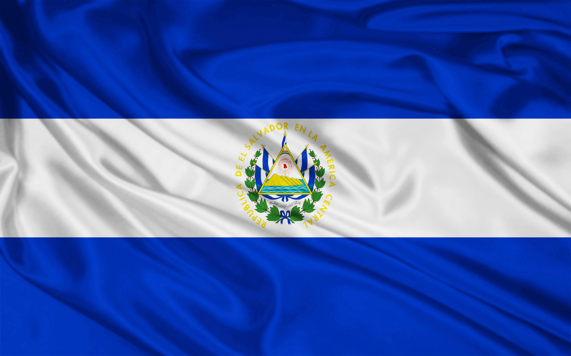 1920x1200 Bild: El Salvador Flagge wallpapers and stock photos. Â«