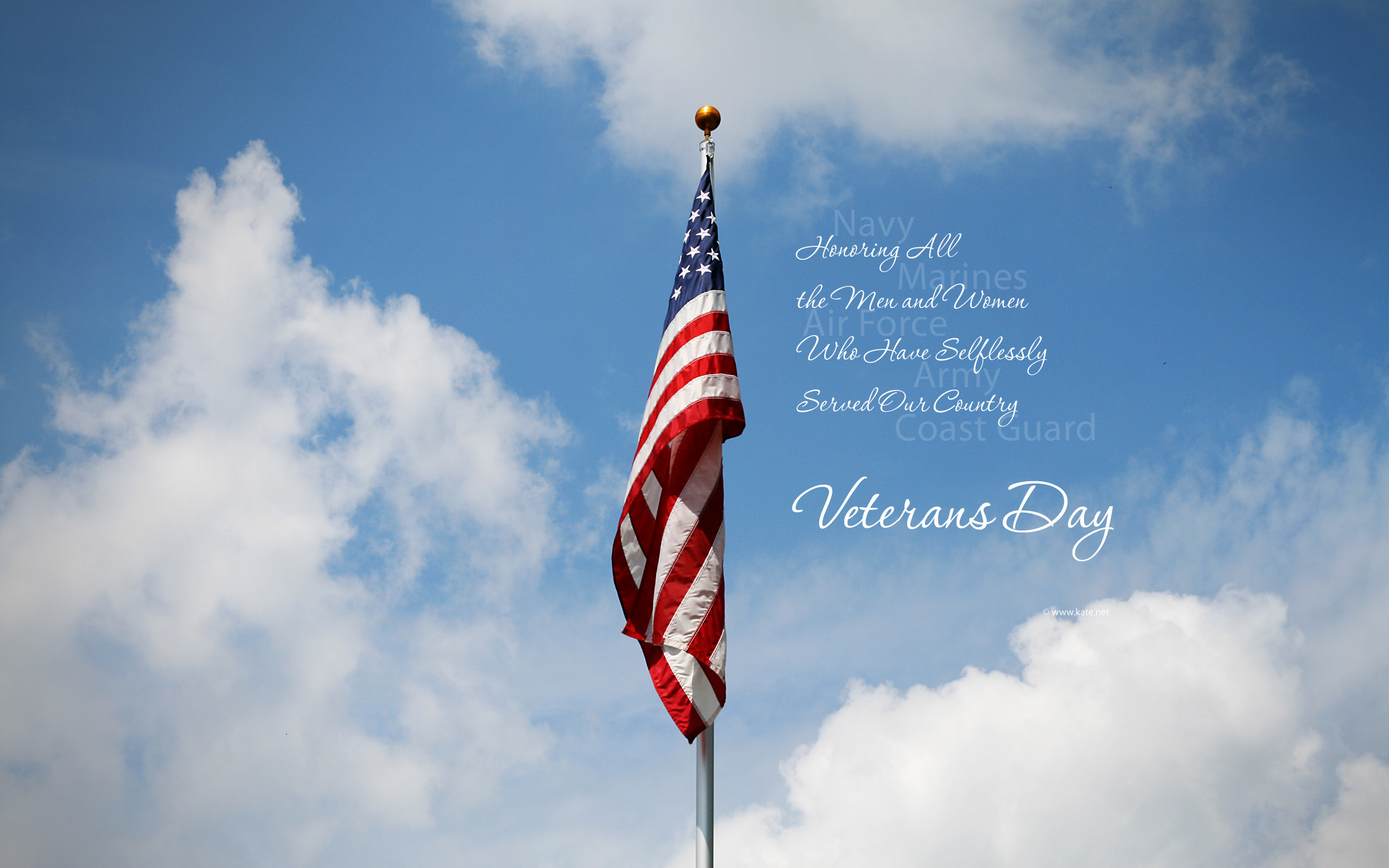 2560x1600 Veterans Day Wallpapers and Facebook Covers, Veterans Day History on  Kate.net