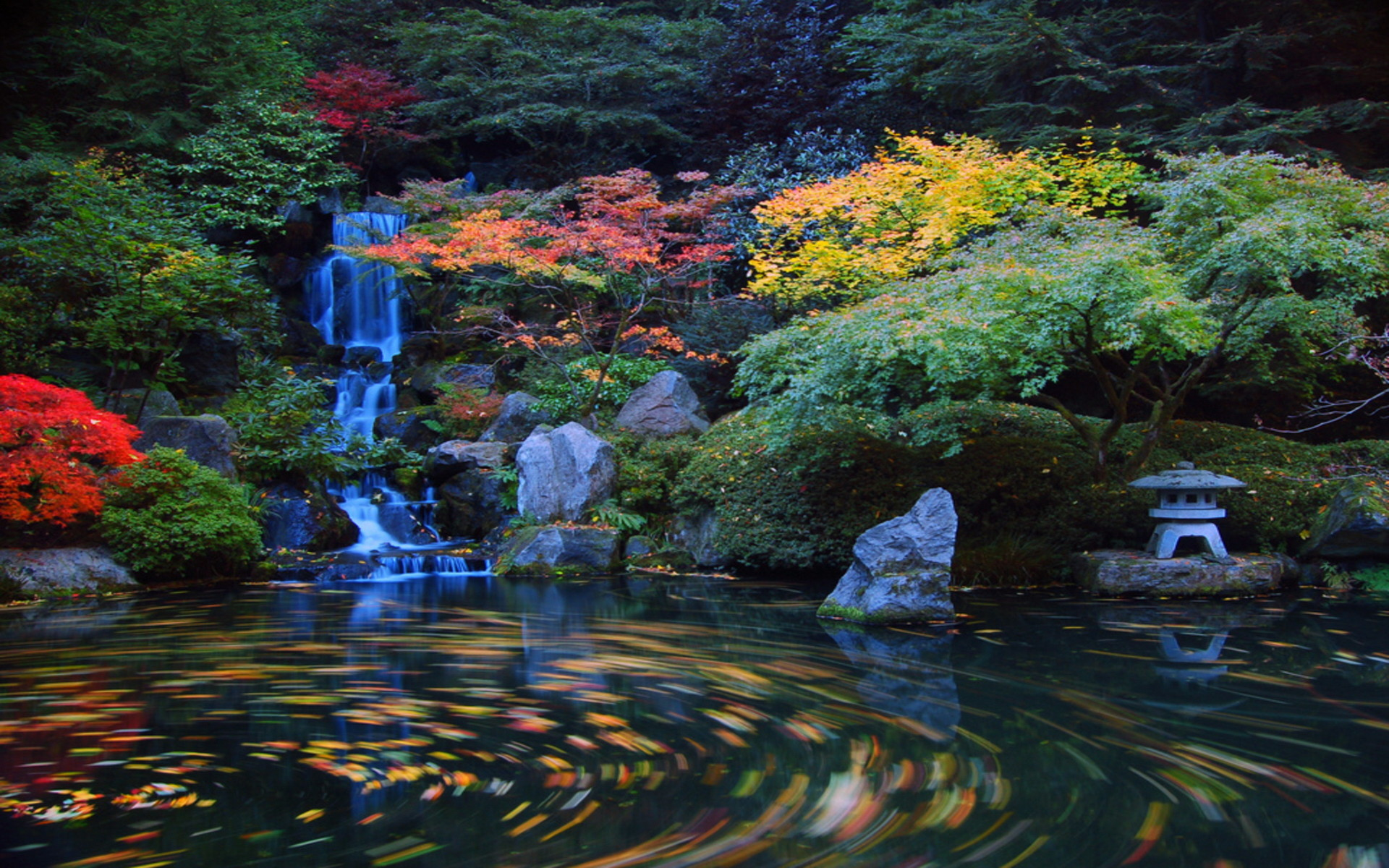 1920x1200 Japanese Garden Wallpapers Backgrounds Desktop