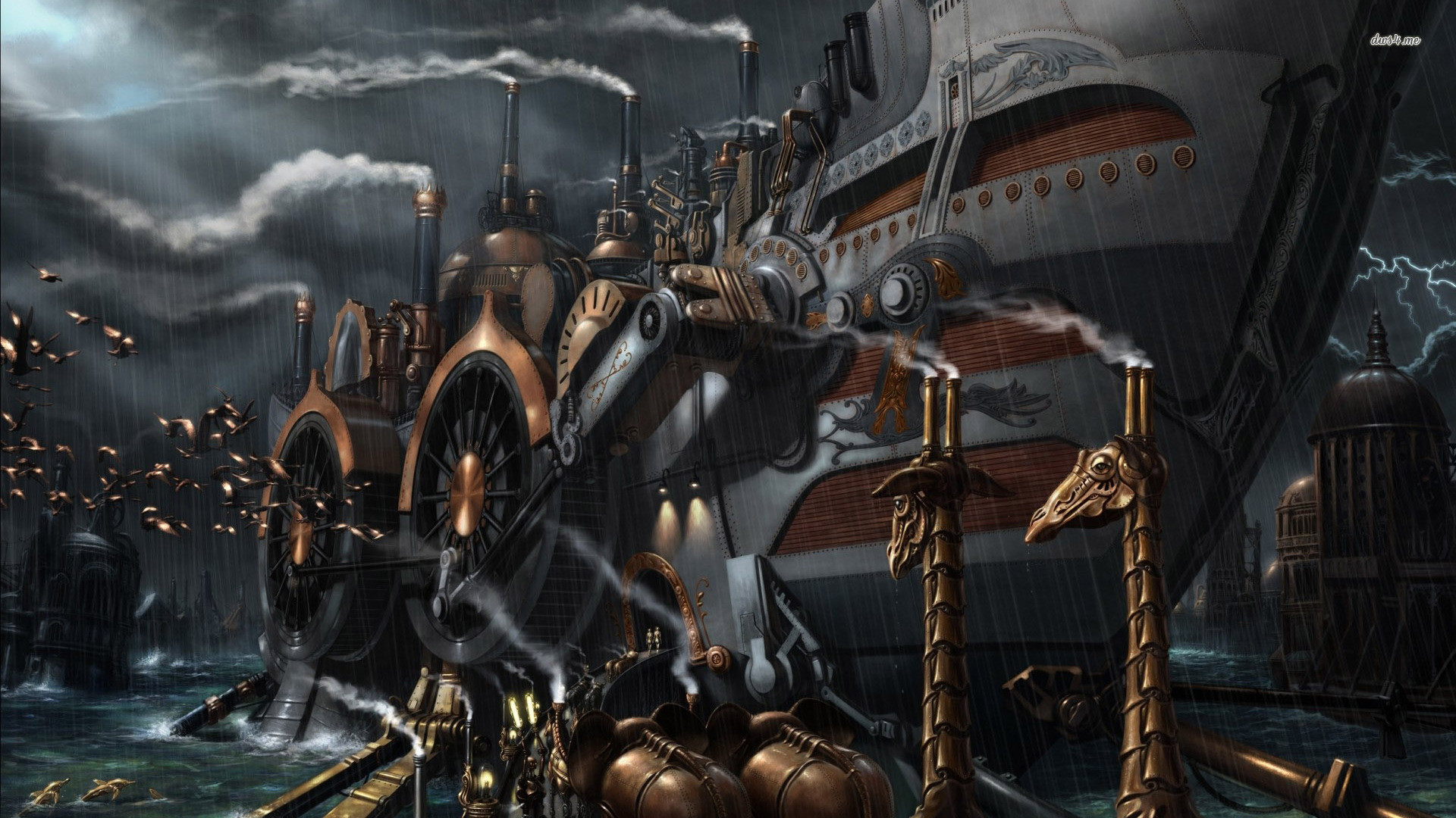 steampunk wallpaper 1920x1080