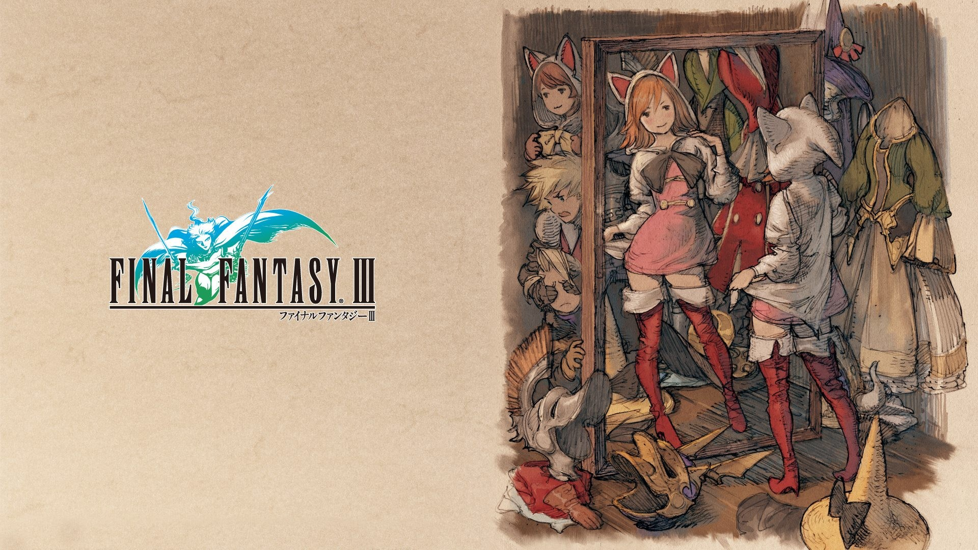 1920x1080 Wallpaper #16 Wallpaper from Final Fantasy III
