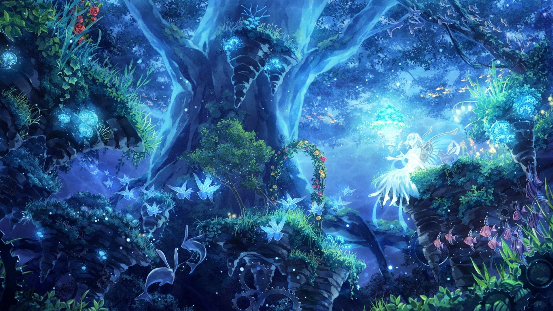 Trippy forest wallpaper 56 images for Where to get wallpaper