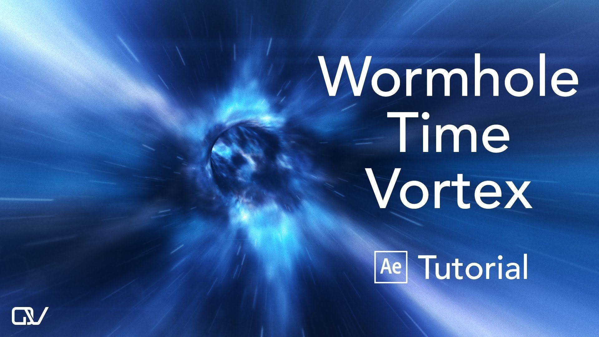 1920x1080 Wormhole Time Vortex - After Effects & Element 3D Tutorial
