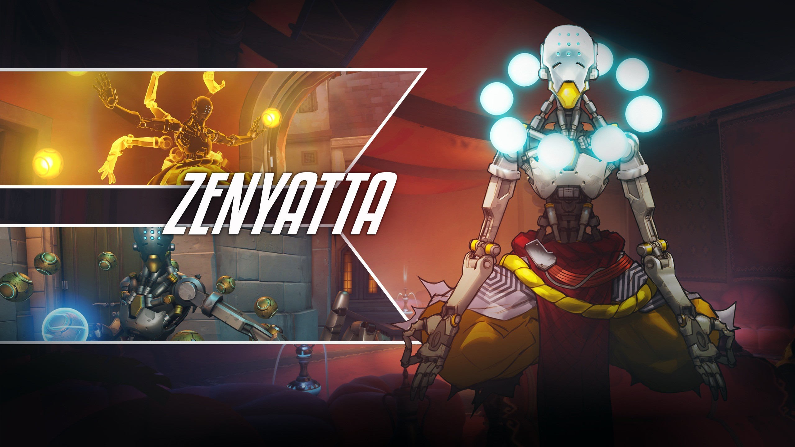 2560x1440 Overwatch Zenyatta Wallpaper Images