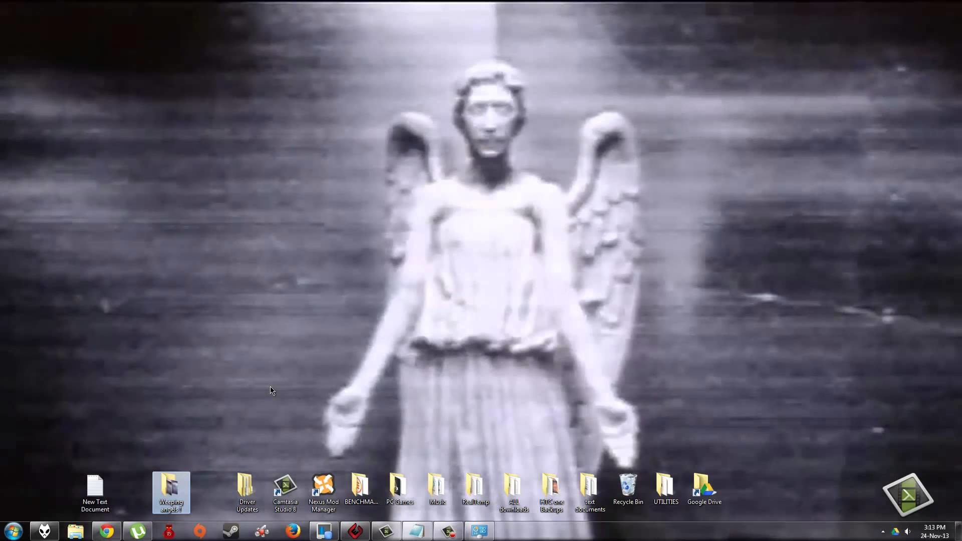 1920x1080 Doctor Who Weeping Angels Wallpaper
