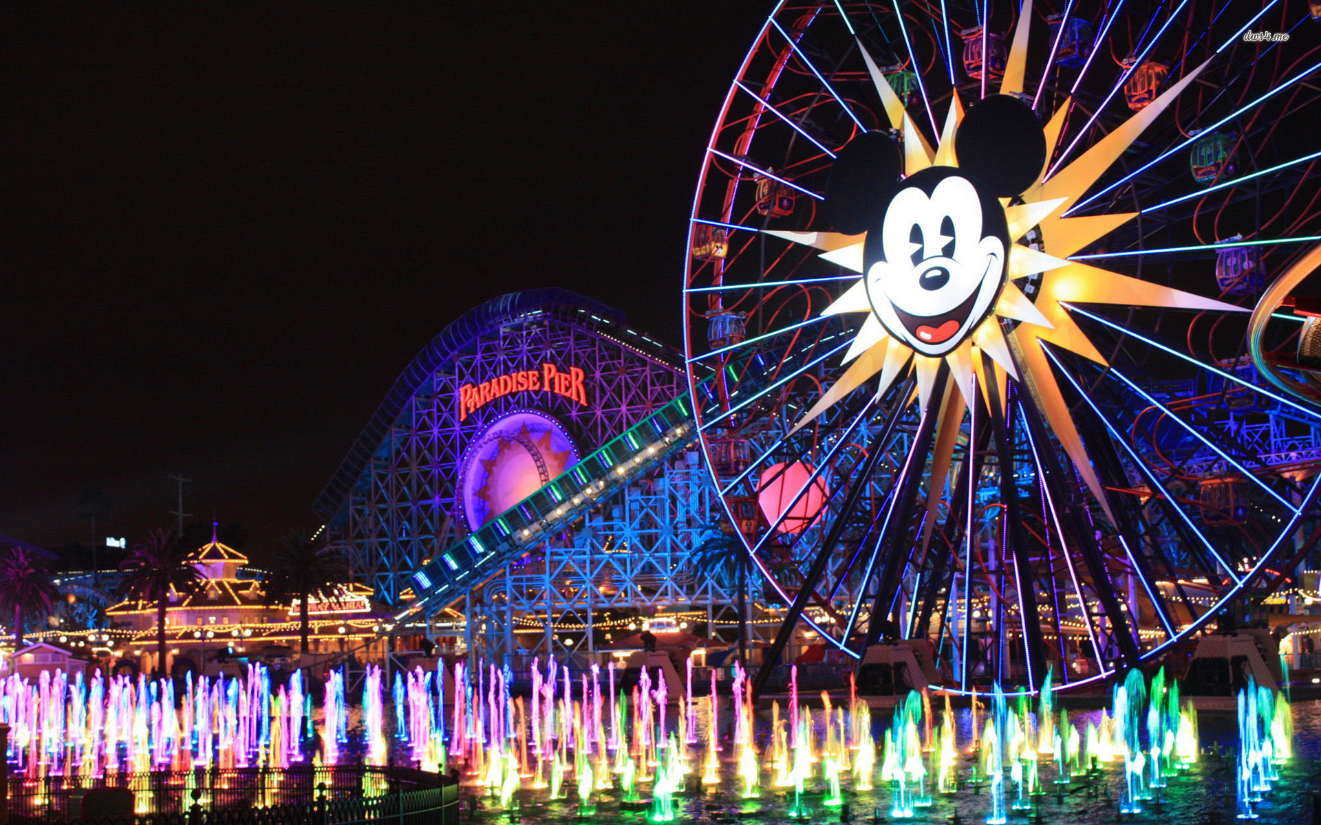 1920x1200 Disneyland - Wallpaper.