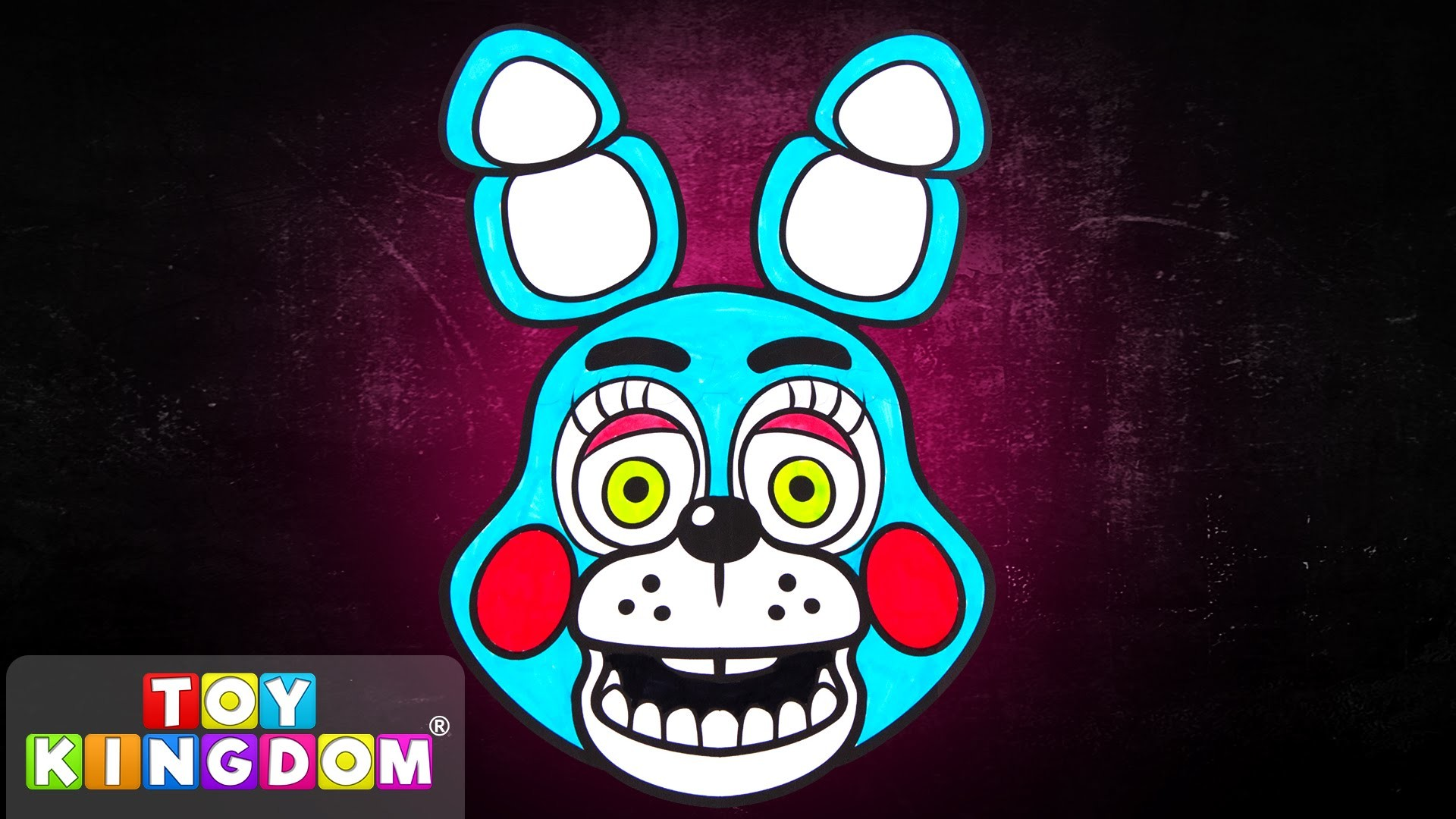 1920x1080 Five Nights at Freddy's Coloring Book Toy Bonnie Colors Episode 10 Do it  Yourself FNAF Art - YouTube