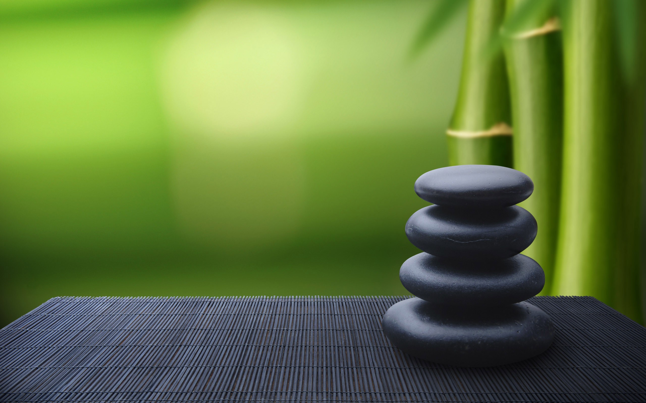Meditation wallpaper 57 images 2560x1600 bamboo stones zen meditation fresh new hd voltagebd Images
