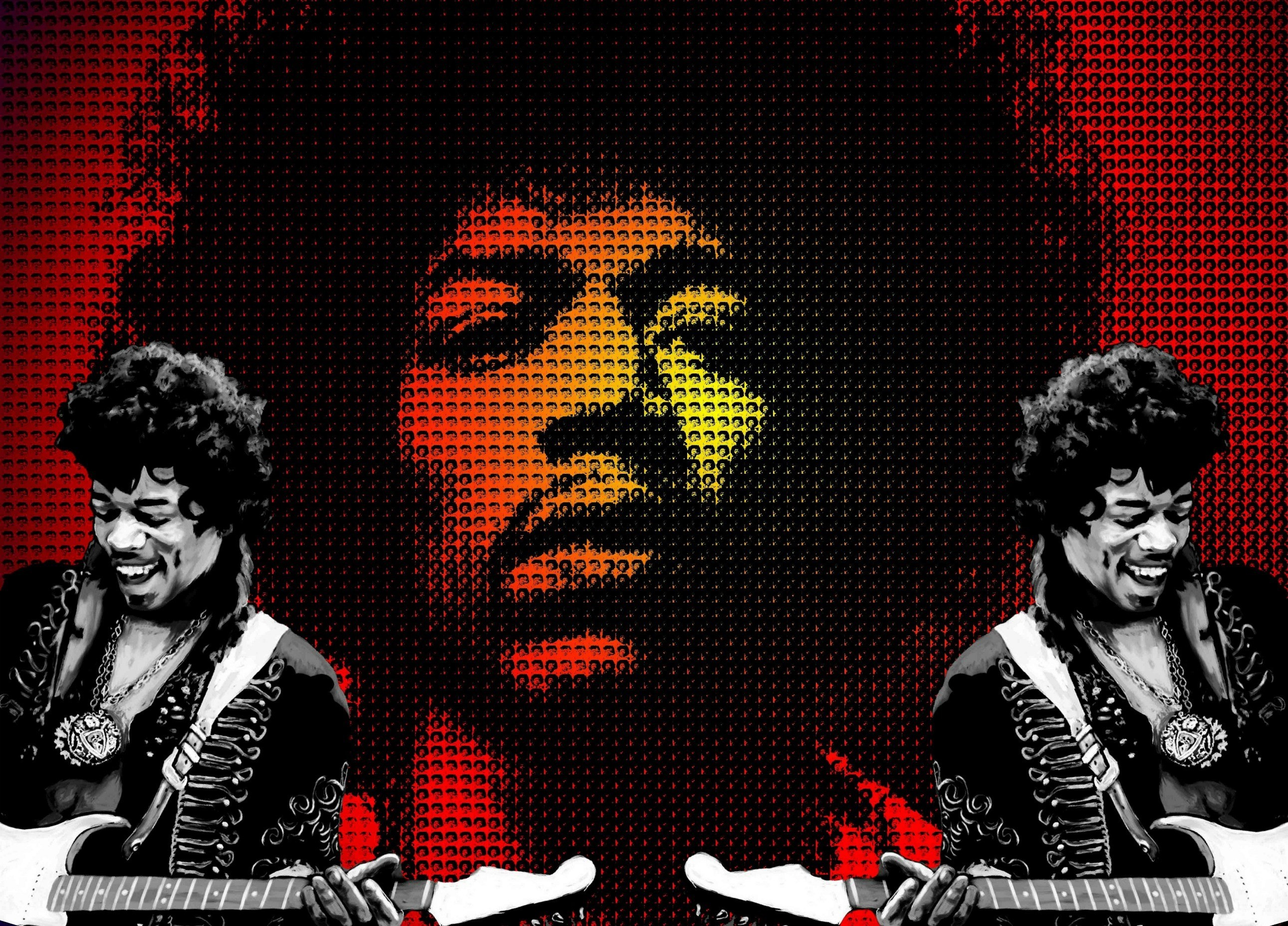 2581x1855 Rayburn Bush - jimi hendrix image: Wallpapers Collection -  px