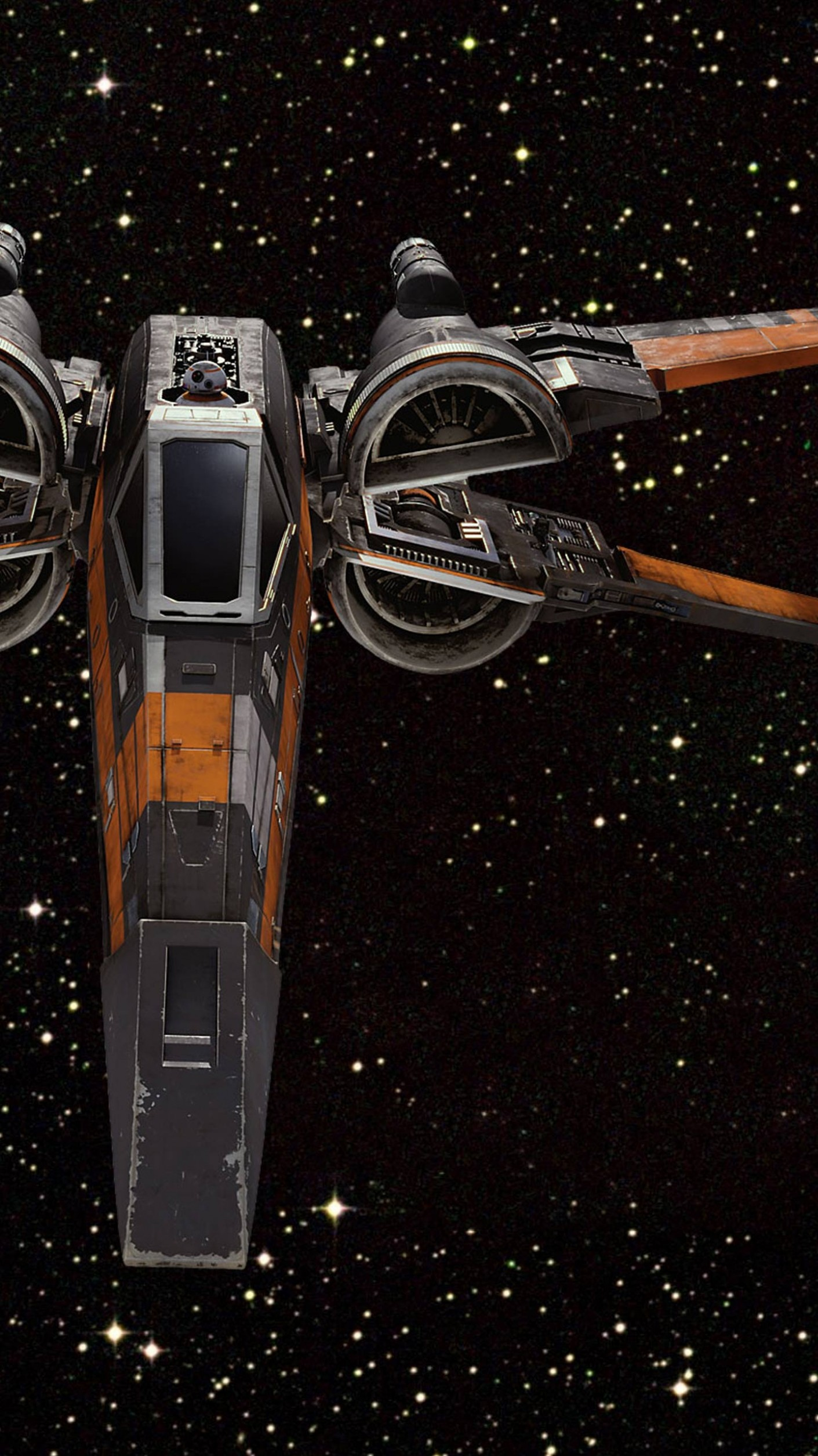 1411x2509 Star Wars: The Force Awakens Wallpapers For Your Iphone 6S And inside X  Wing Wallpaper
