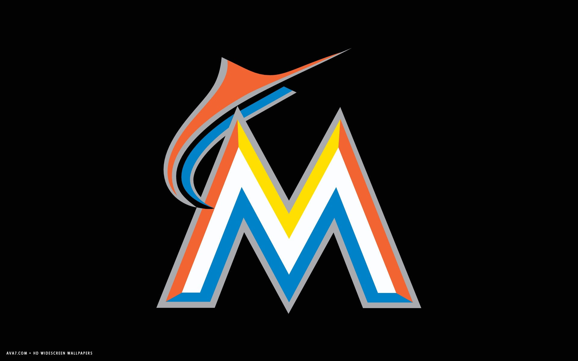 1920x1200 miami marlins mlb baseball team hd widescreen wallpaper