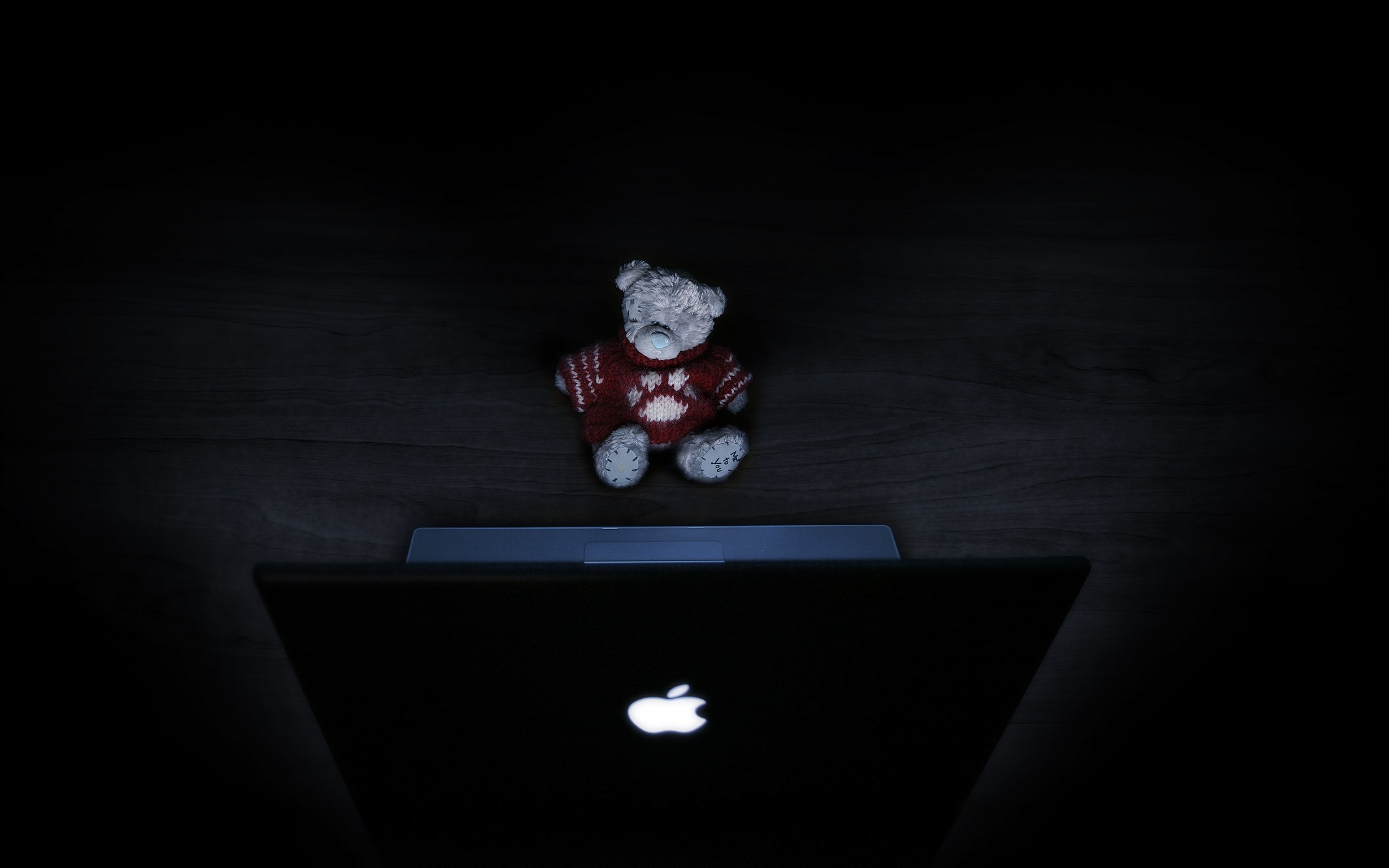 2880x1800 Teddybear Mac Mac wallpaper
