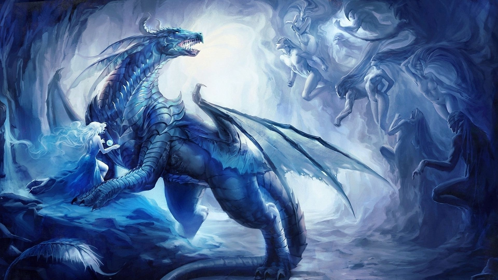 blue dragon wallpaper hd 70 images