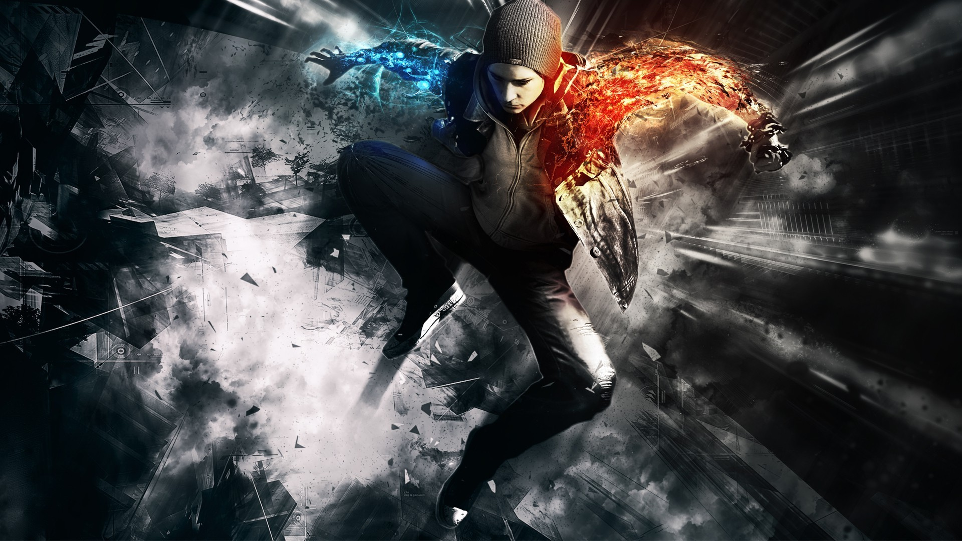 1920x1080 inFAMOUS: Second Son HD Wallpapers