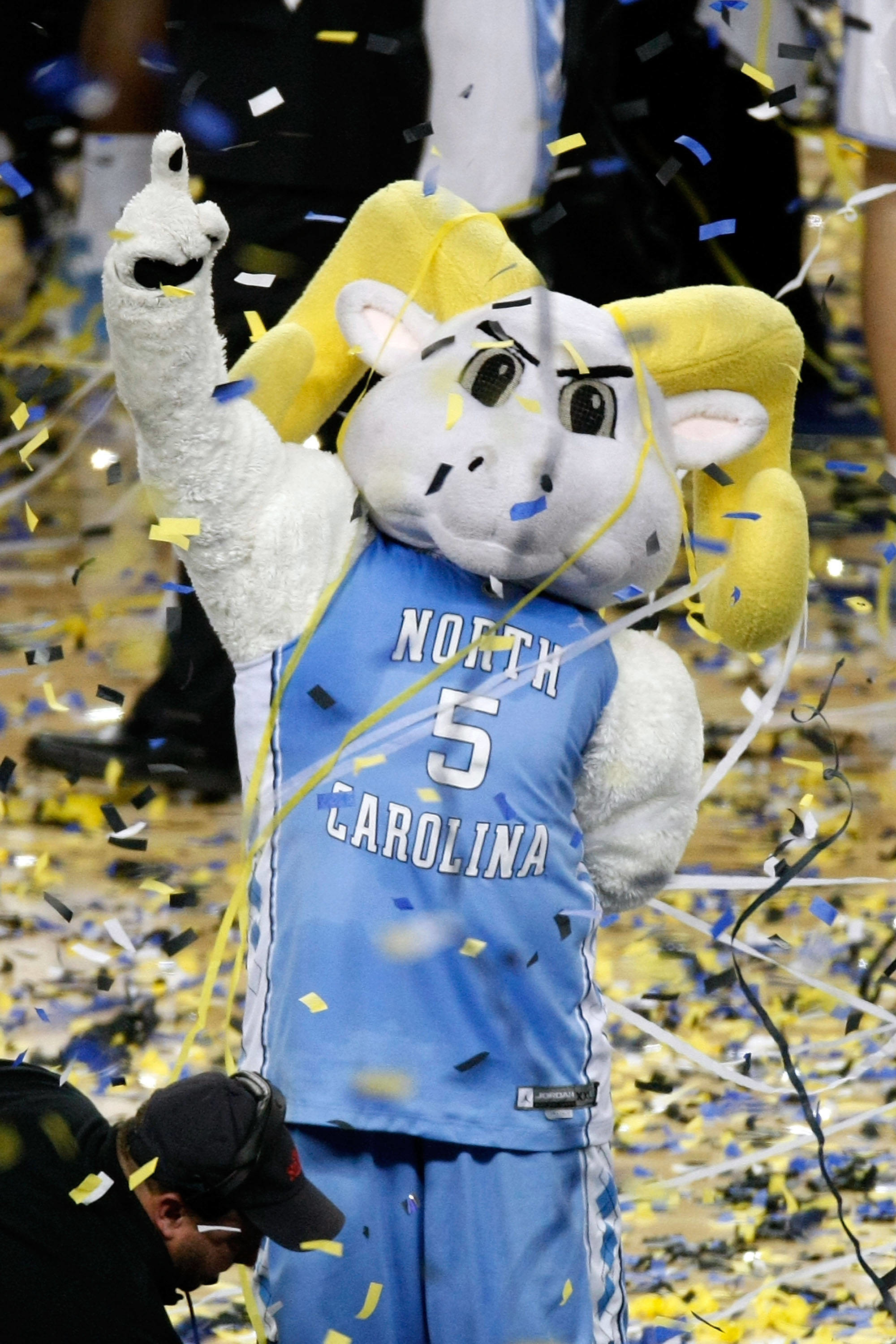 2000x3000 The North Carolina Tar Heels mascot