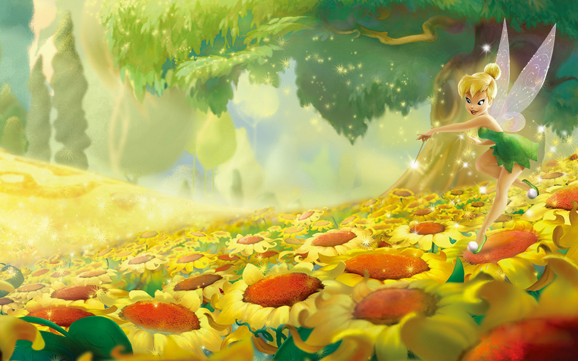 Tinkerbell backgrounds 63 images 1920x1200 wallpaper pictures tinker bell hd pic wpe00465 voltagebd Gallery
